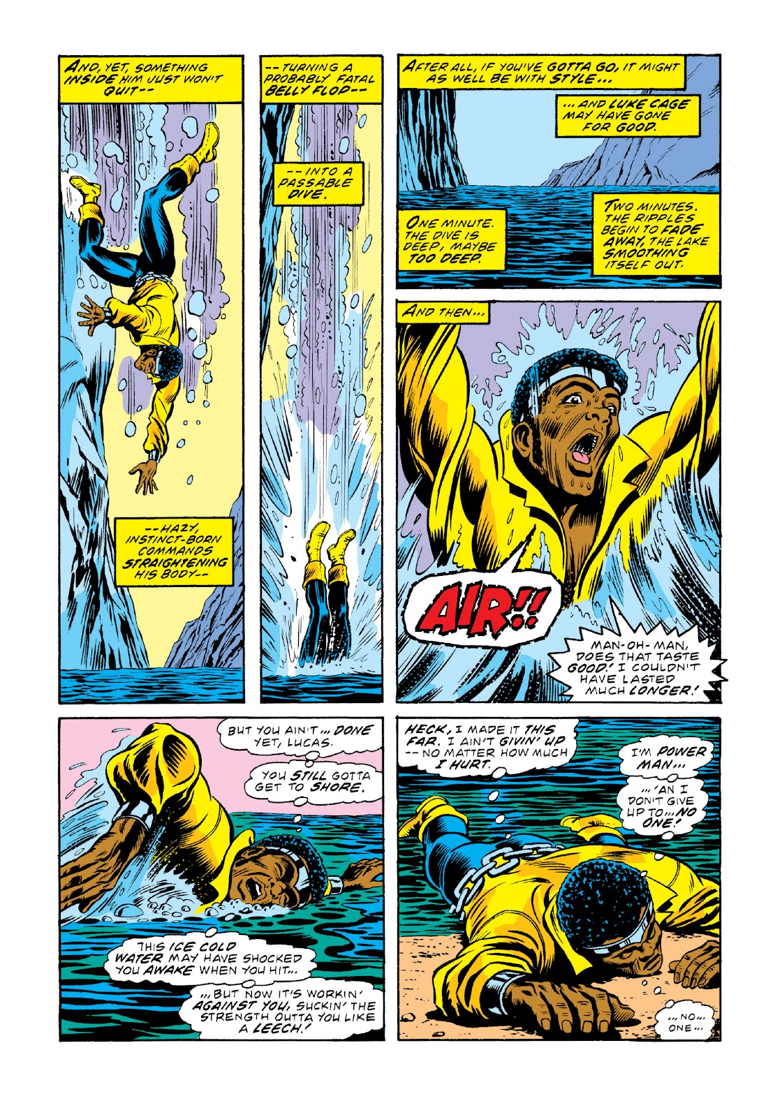 Read online Marvel Masterworks: Luke Cage, Power Man comic -  Issue # TPB 3 (Part 2) - 3