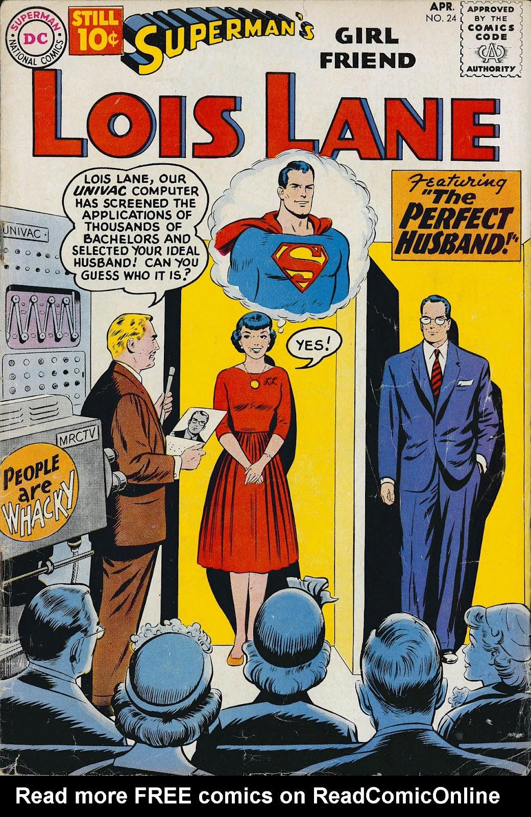 Supermans Girl Friend, Lois Lane 24 Page 1