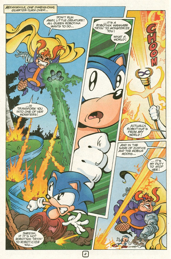 Read online Sonic Super Special comic -  Issue #8 - Giant special - 5