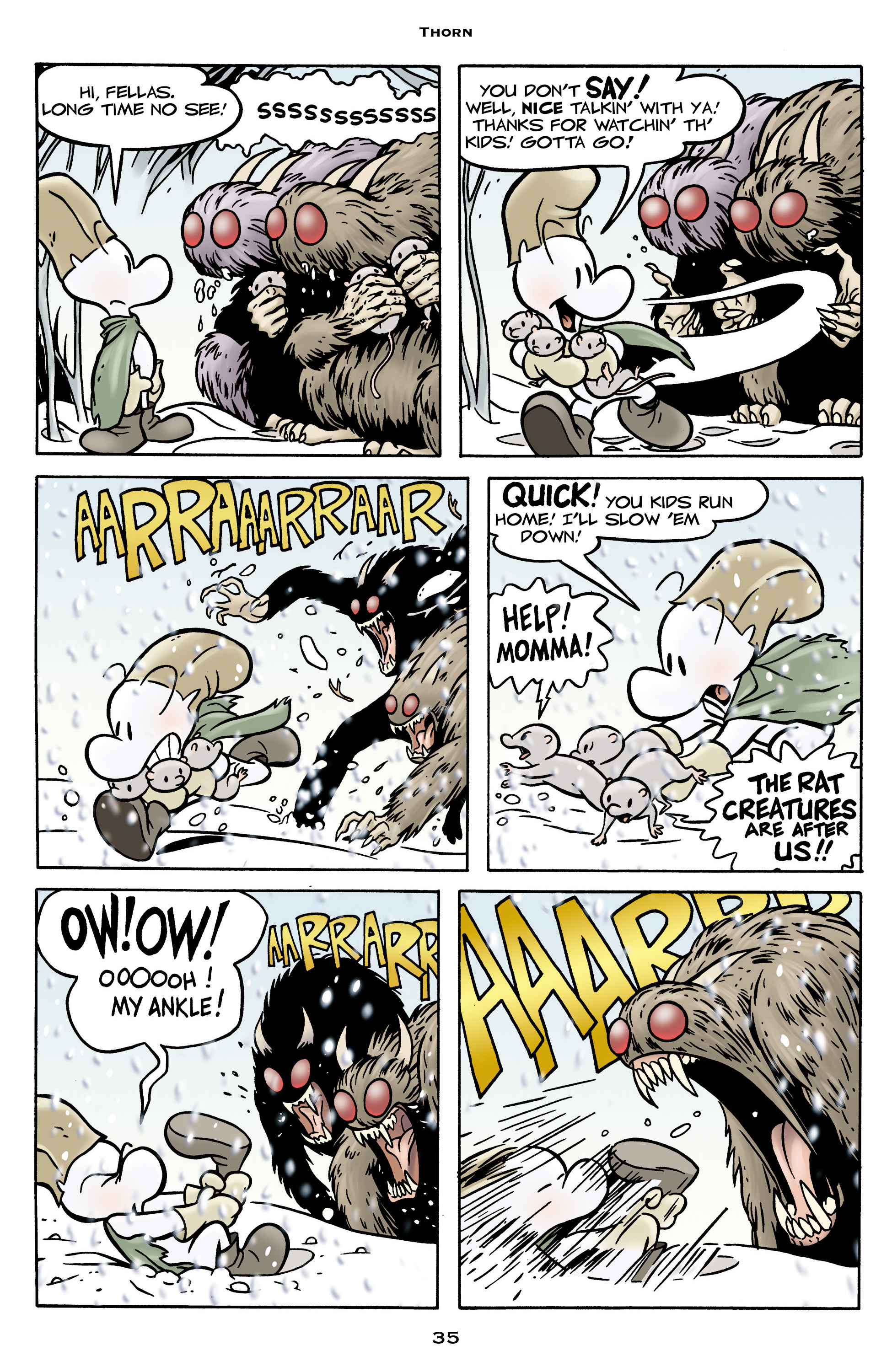 Read online Bone: Out From Boneville comic -  Issue # TPB - 35