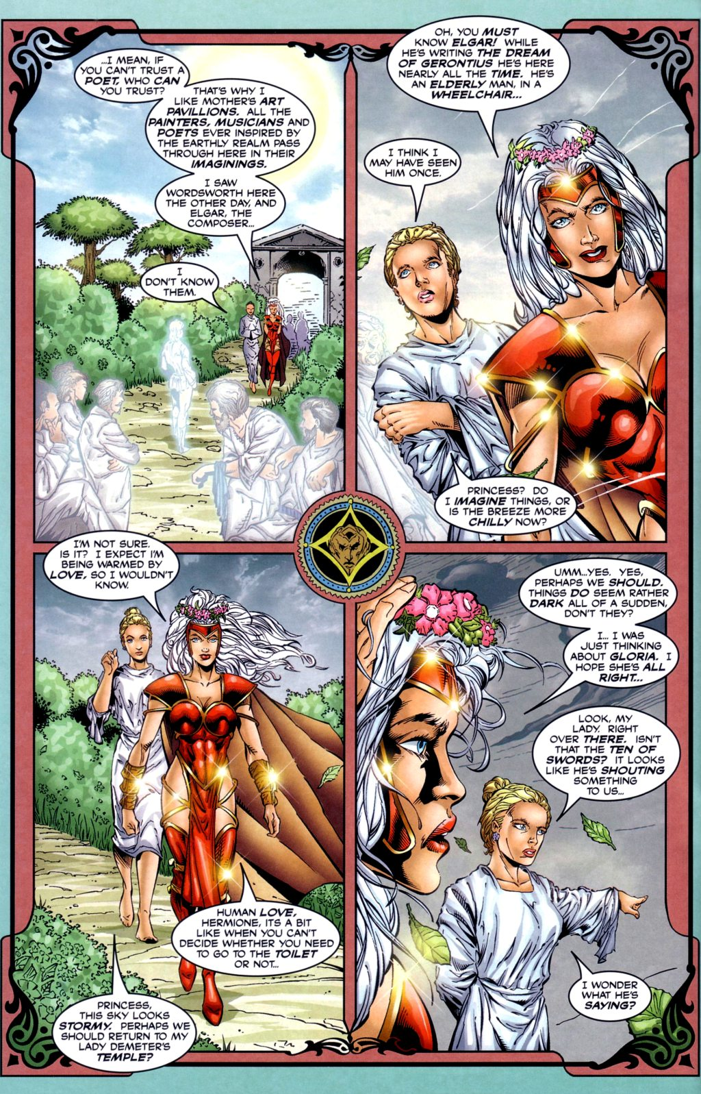 Read online Alan Moore's Glory comic -  Issue #2 - 22