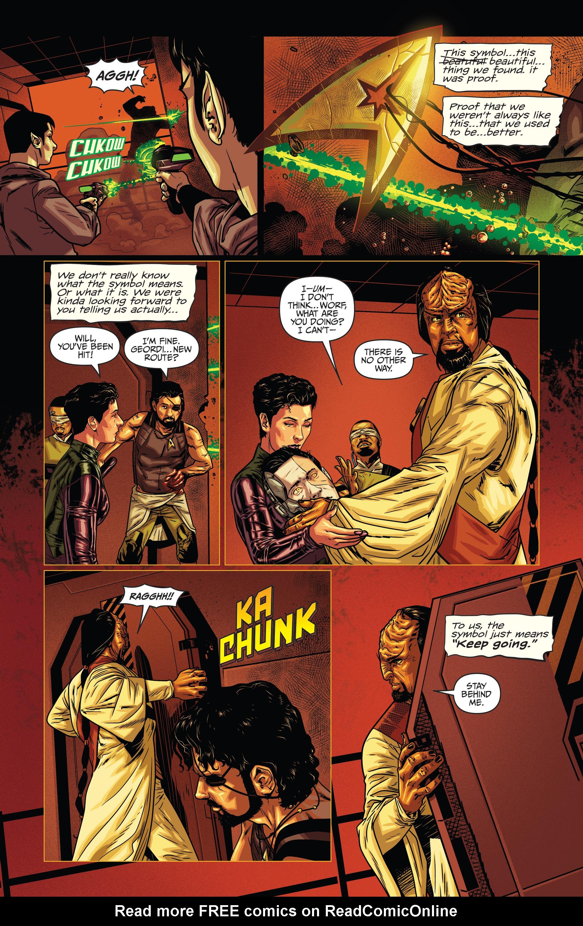 Read online Star Trek: Deviations comic -  Issue # Full - 12