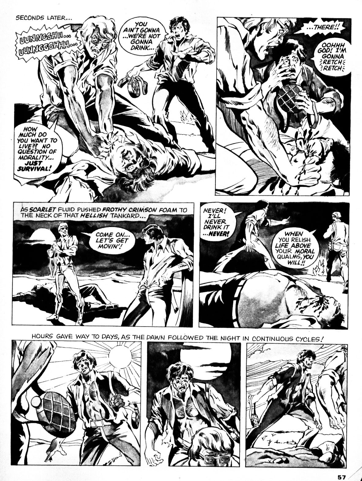Nightmare (1970) issue 21 - Page 56