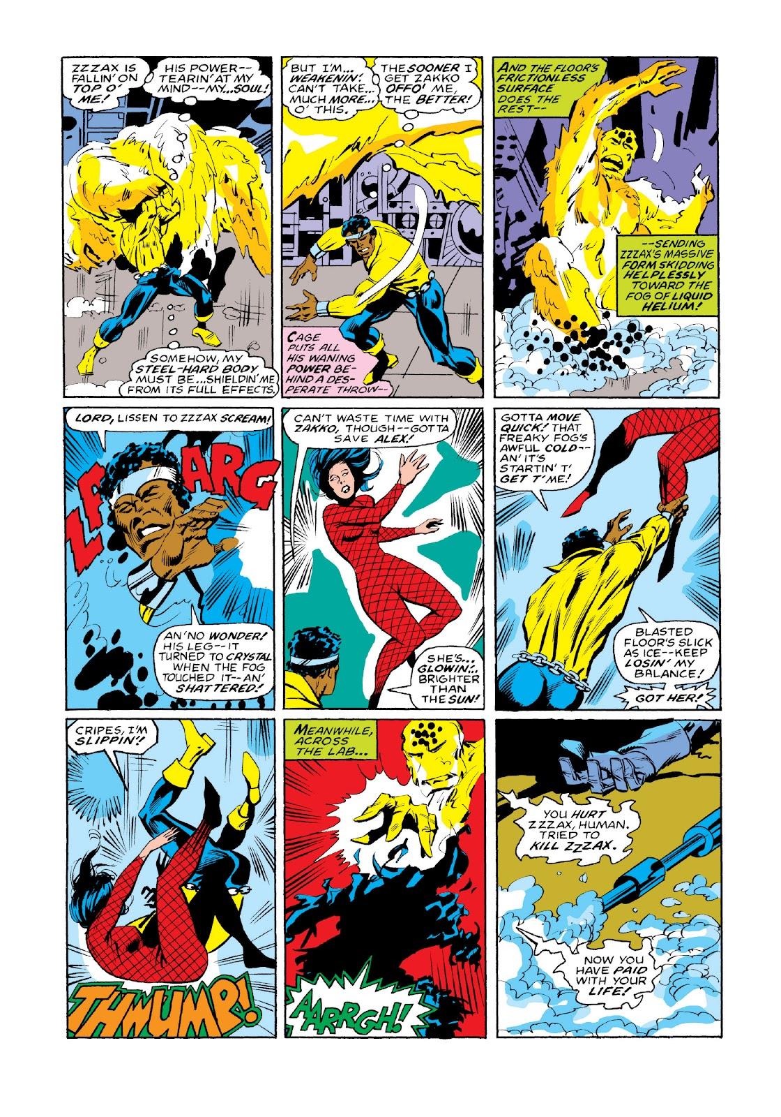 Read online Marvel Masterworks: Luke Cage, Power Man comic -  Issue # TPB 3 (Part 3) - 115