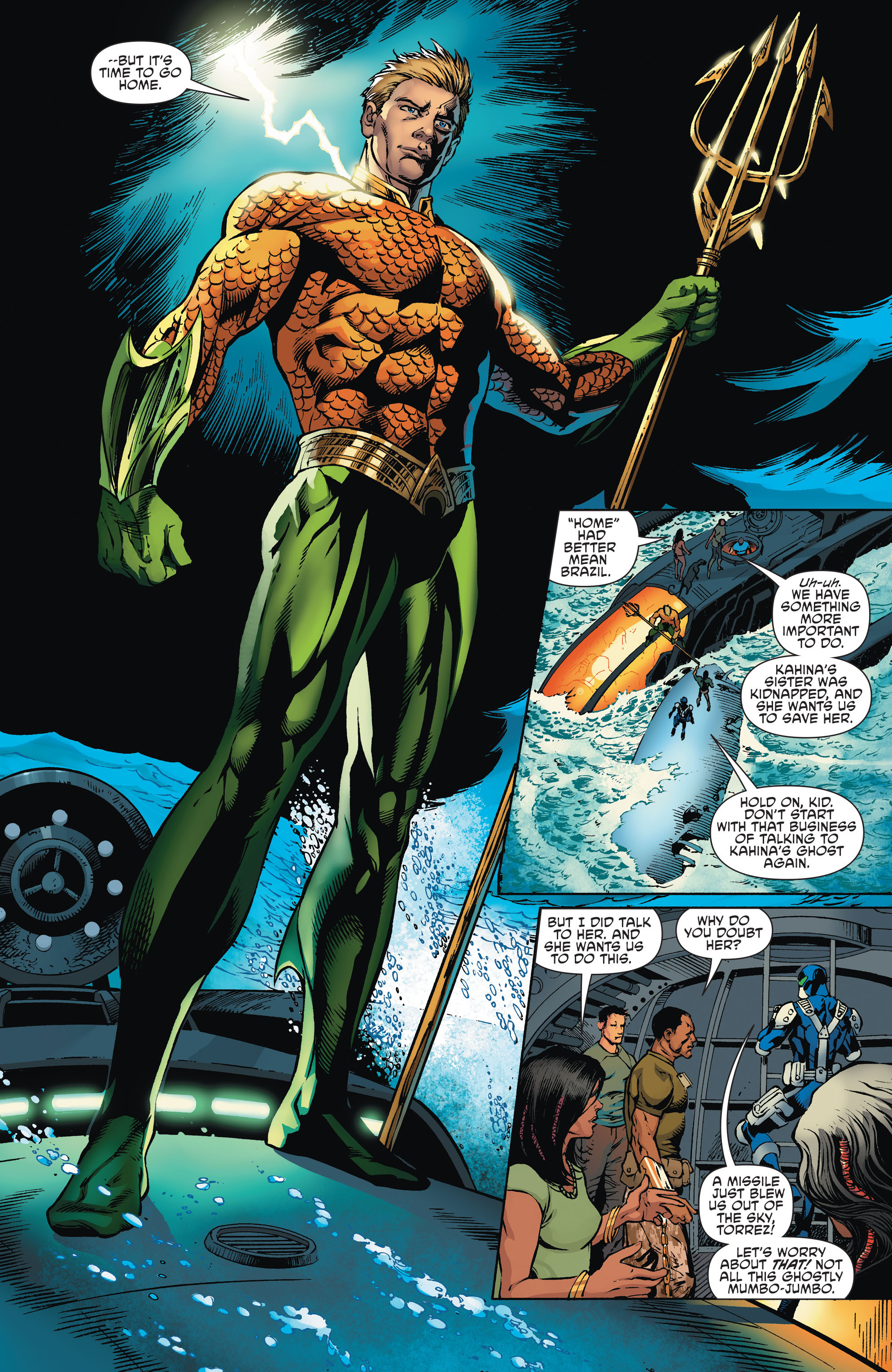 Read online Aquaman and the Others comic -  Issue #2 - 10