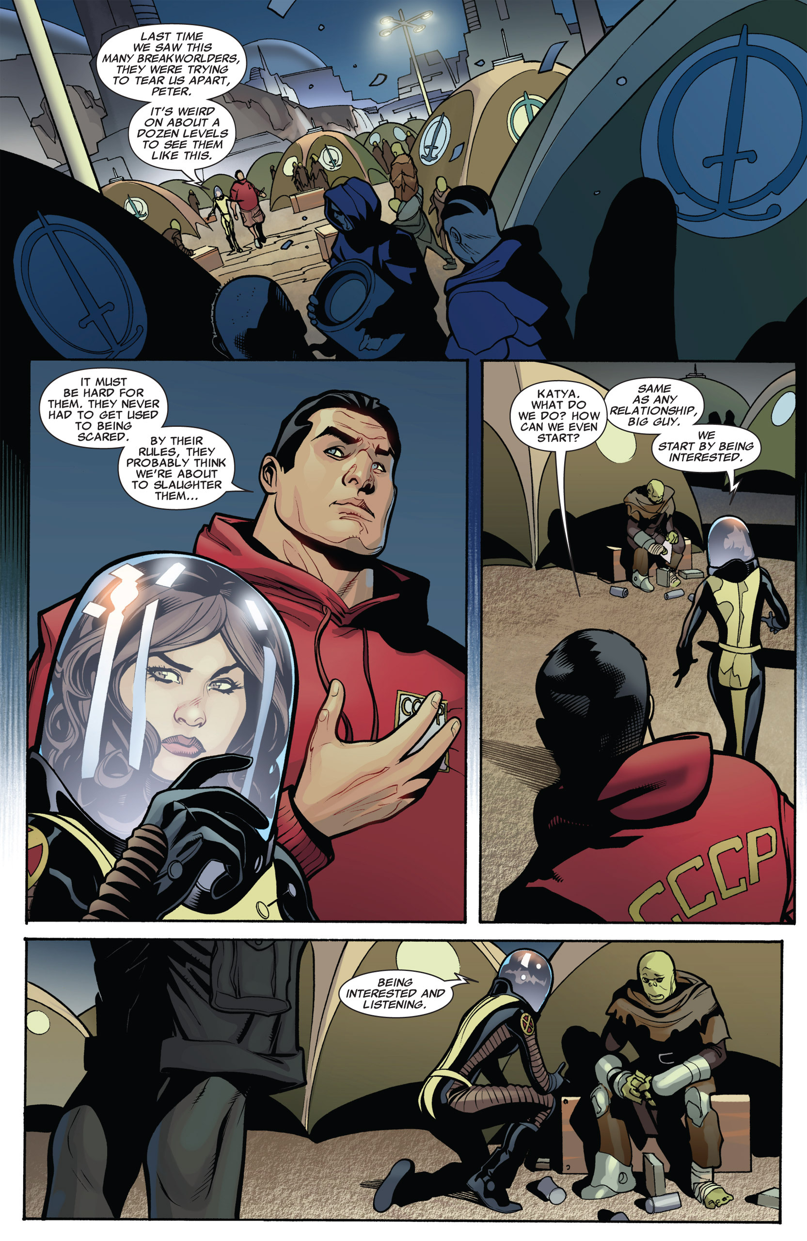 Read online Uncanny X-Men (1963) comic -  Issue #536 - 9