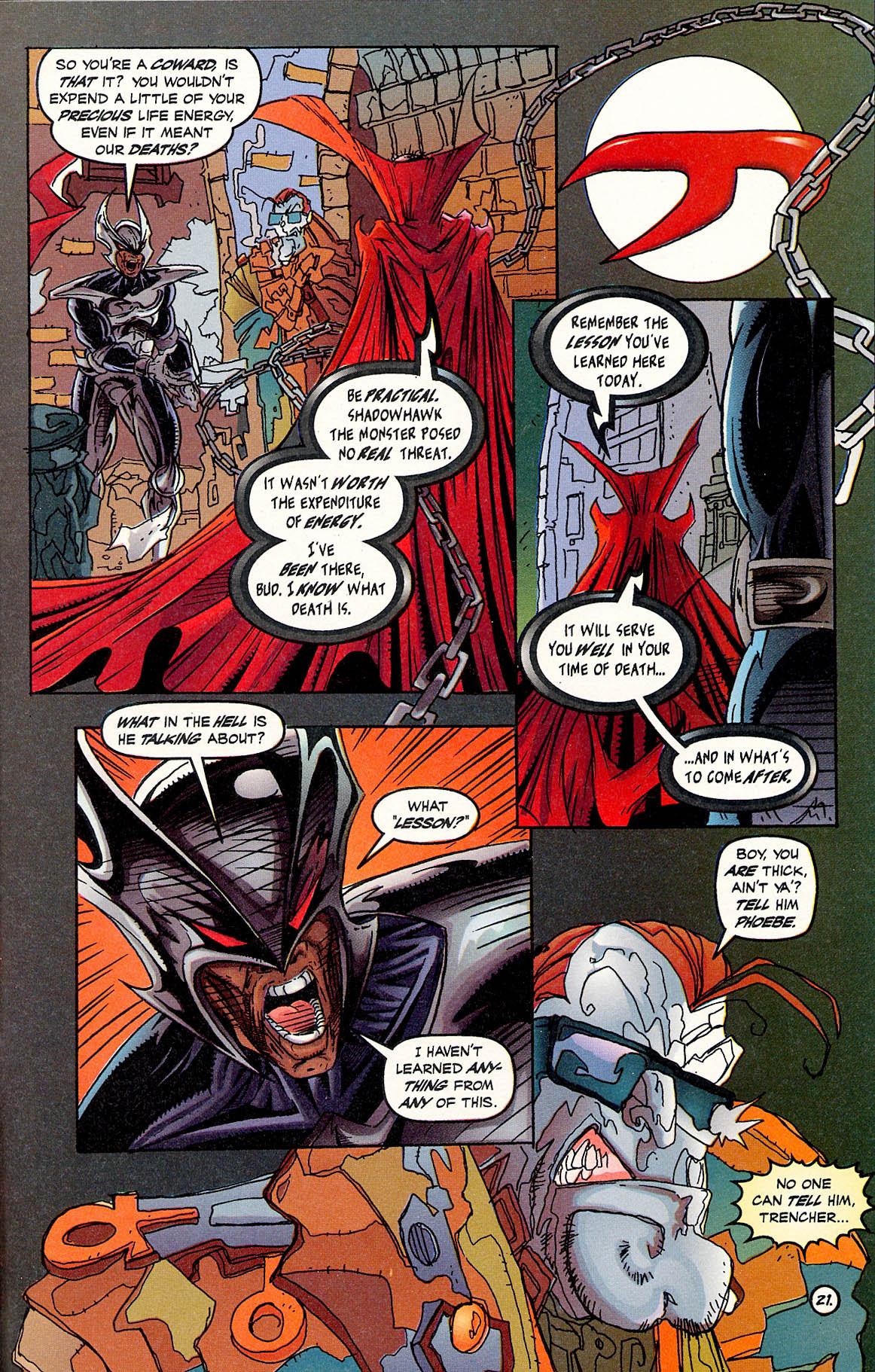 Read online ShadowHawk comic -  Issue #17 - 20