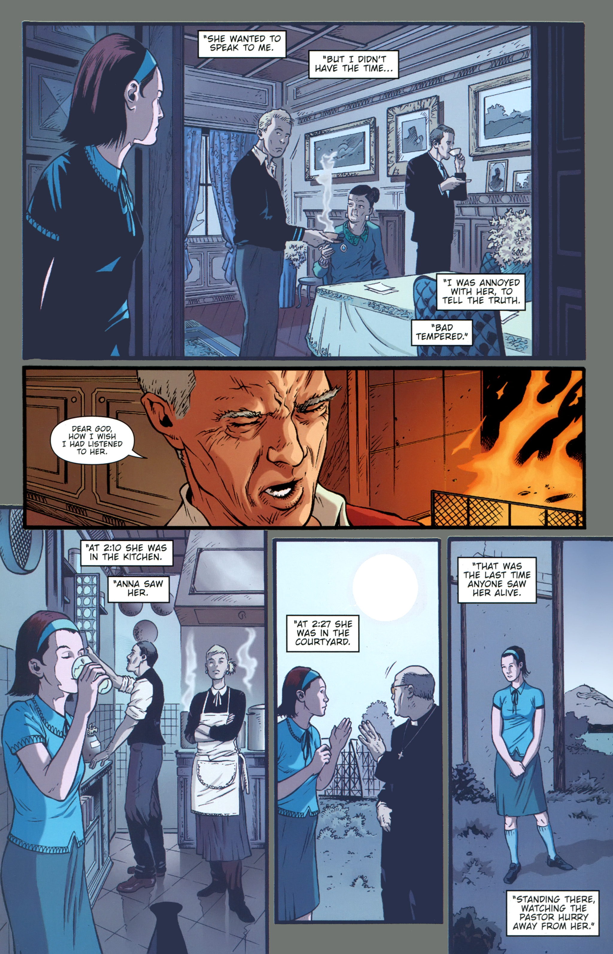 Read online The Girl With the Dragon Tattoo comic -  Issue # TPB 1 - 56