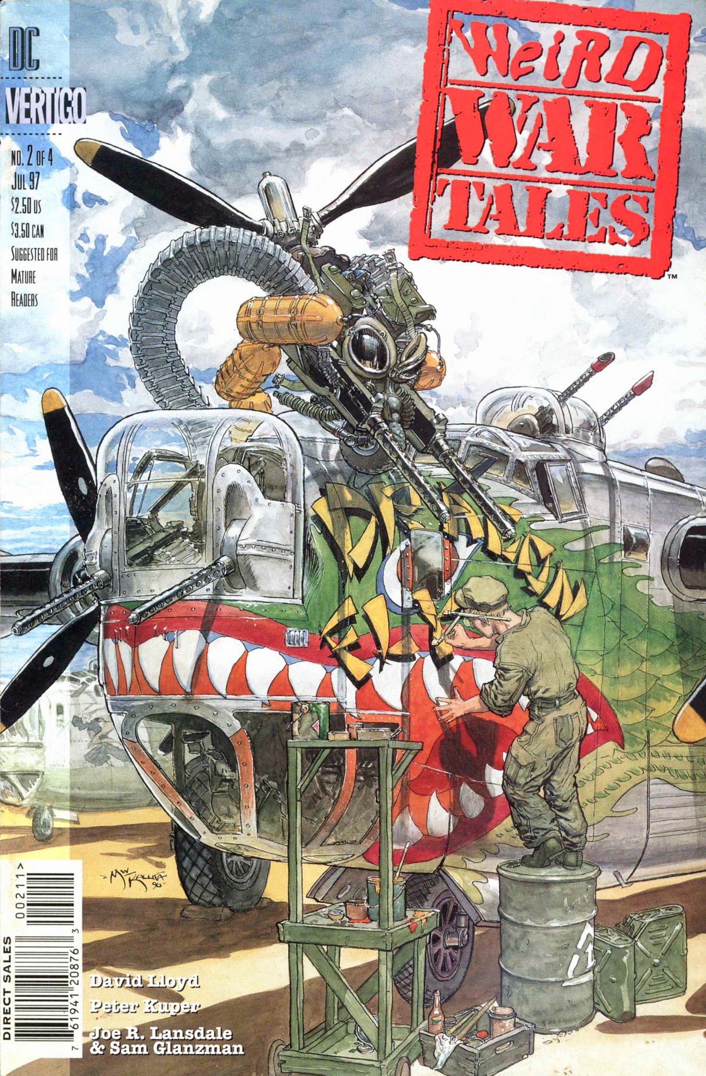 Weird War Tales (1997) issue 2 - Page 1