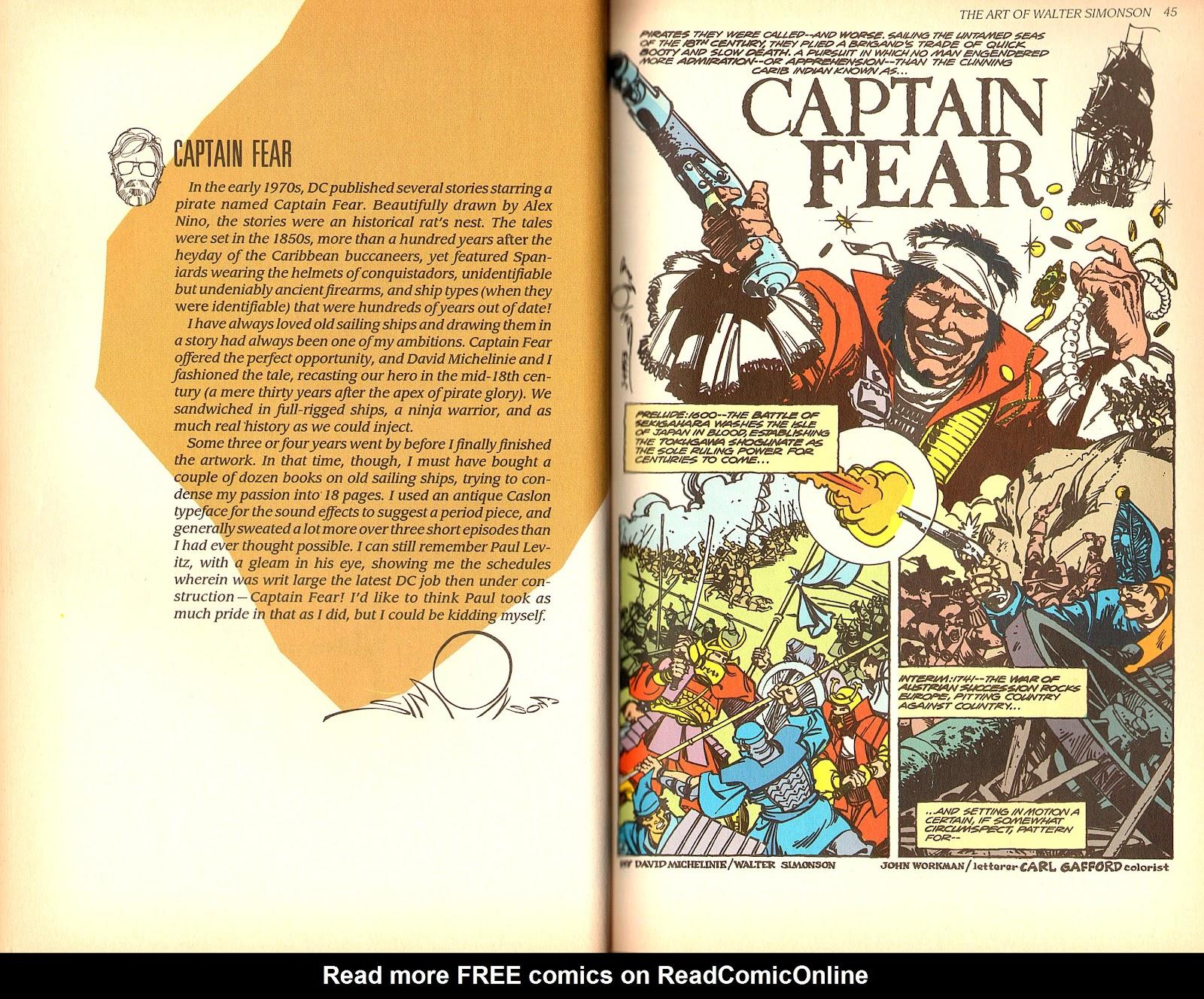 Read online The Art of Walter Simonson comic -  Issue # TPB - 24