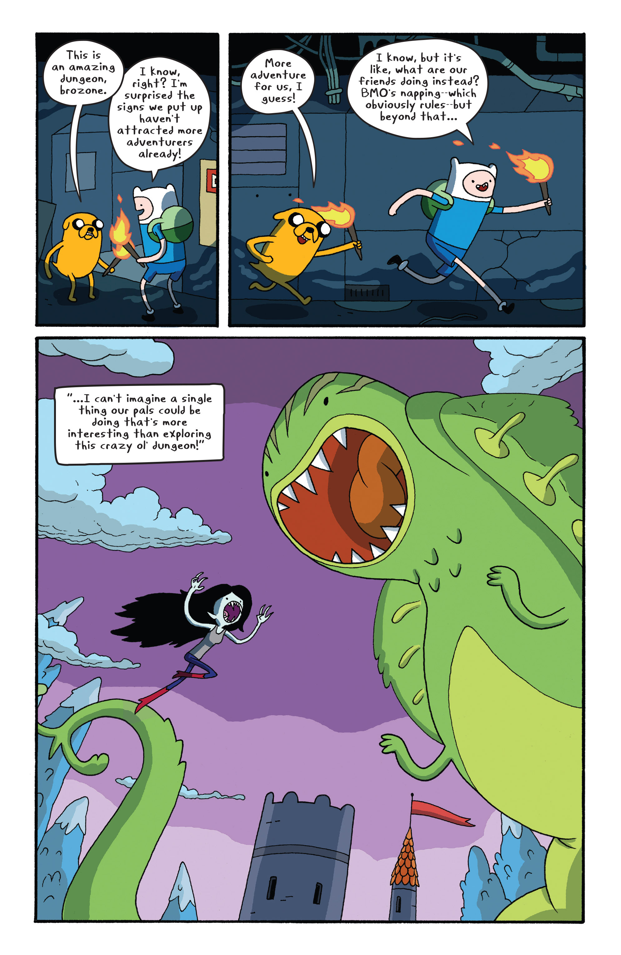 Read online Adventure Time comic -  Issue #26 - 8