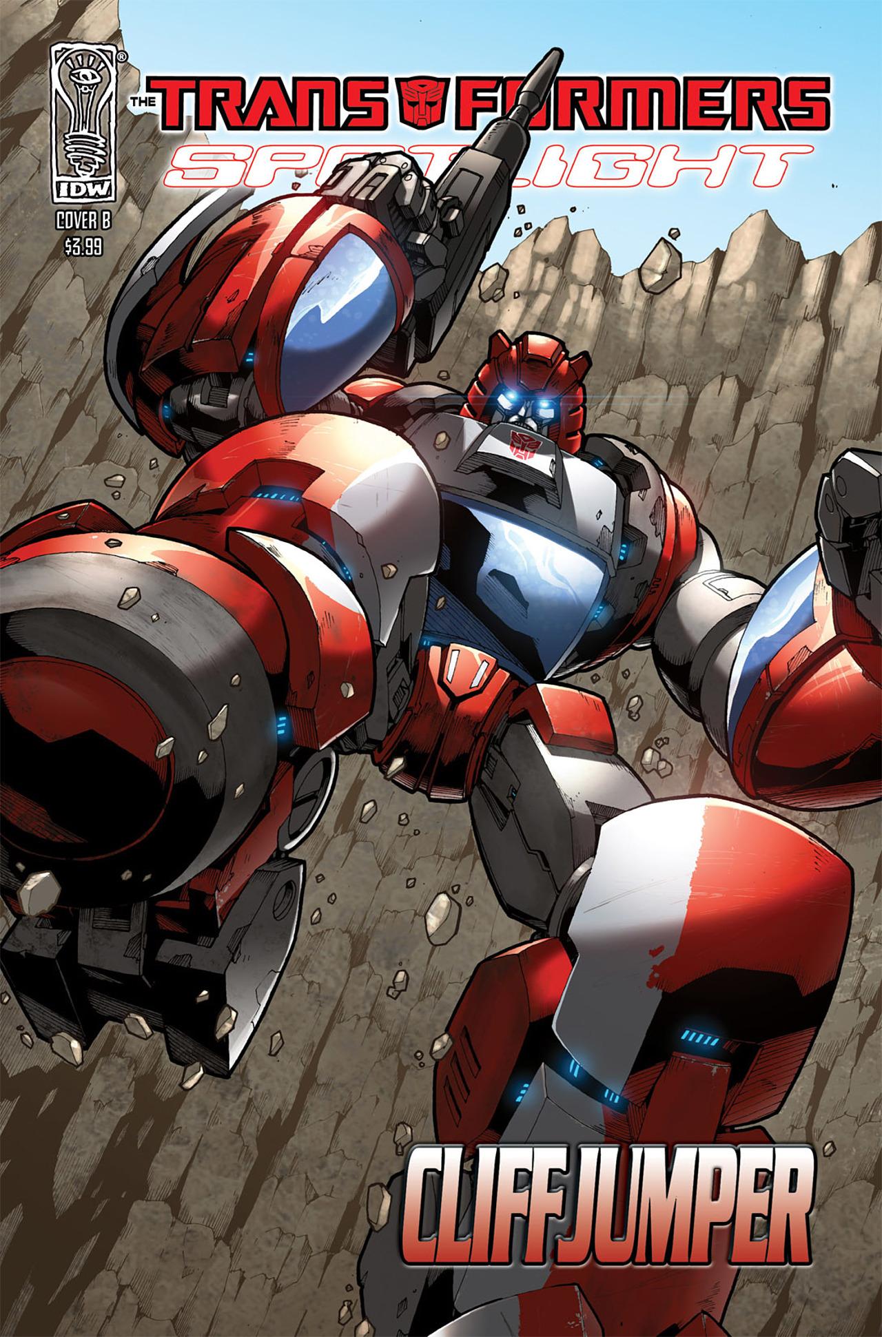 Read online Transformers Spotlight: Cliffjumper comic -  Issue # Full - 2
