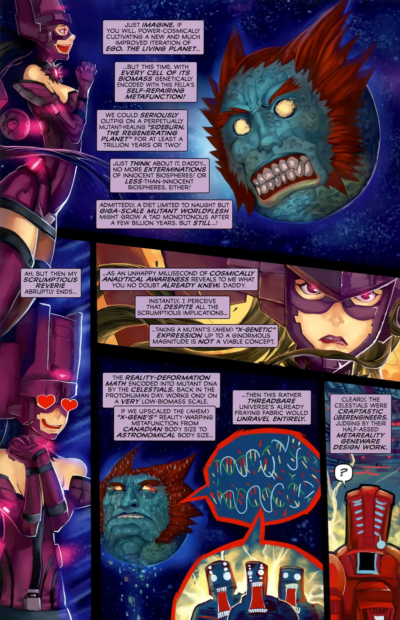 Read online Galacta: Daughter of Galactus comic -  Issue # Full - 16