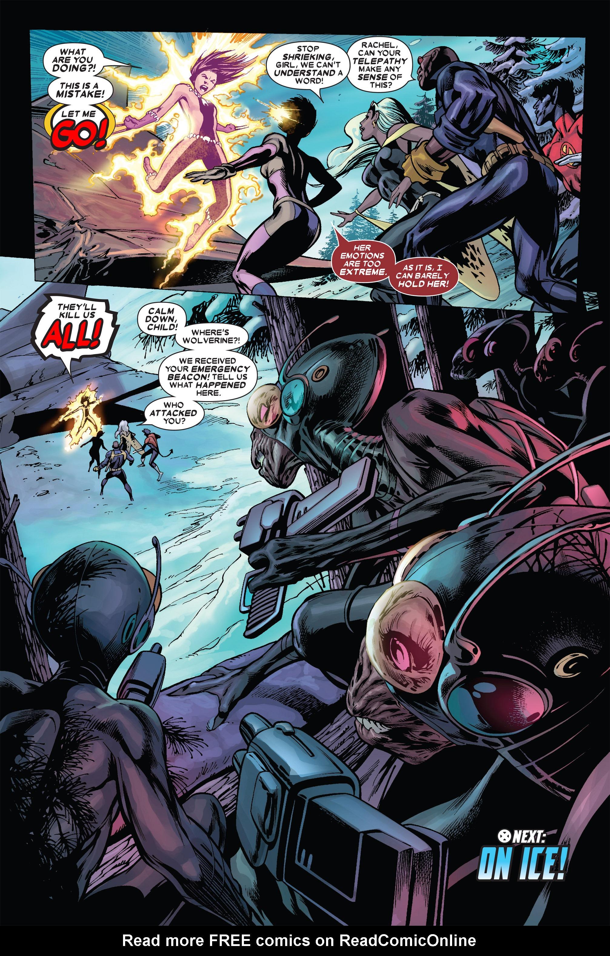 Read online Uncanny X-Men (1963) comic -  Issue #455 - 23