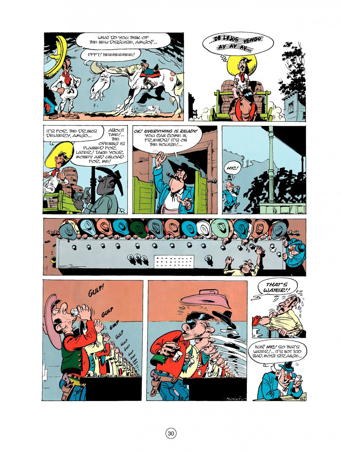 Read online A Lucky Luke Adventure comic -  Issue #27 - 31