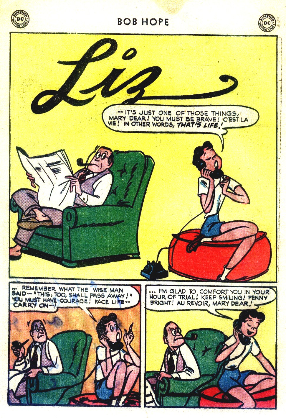 The Adventures of Bob Hope issue 27 - Page 36