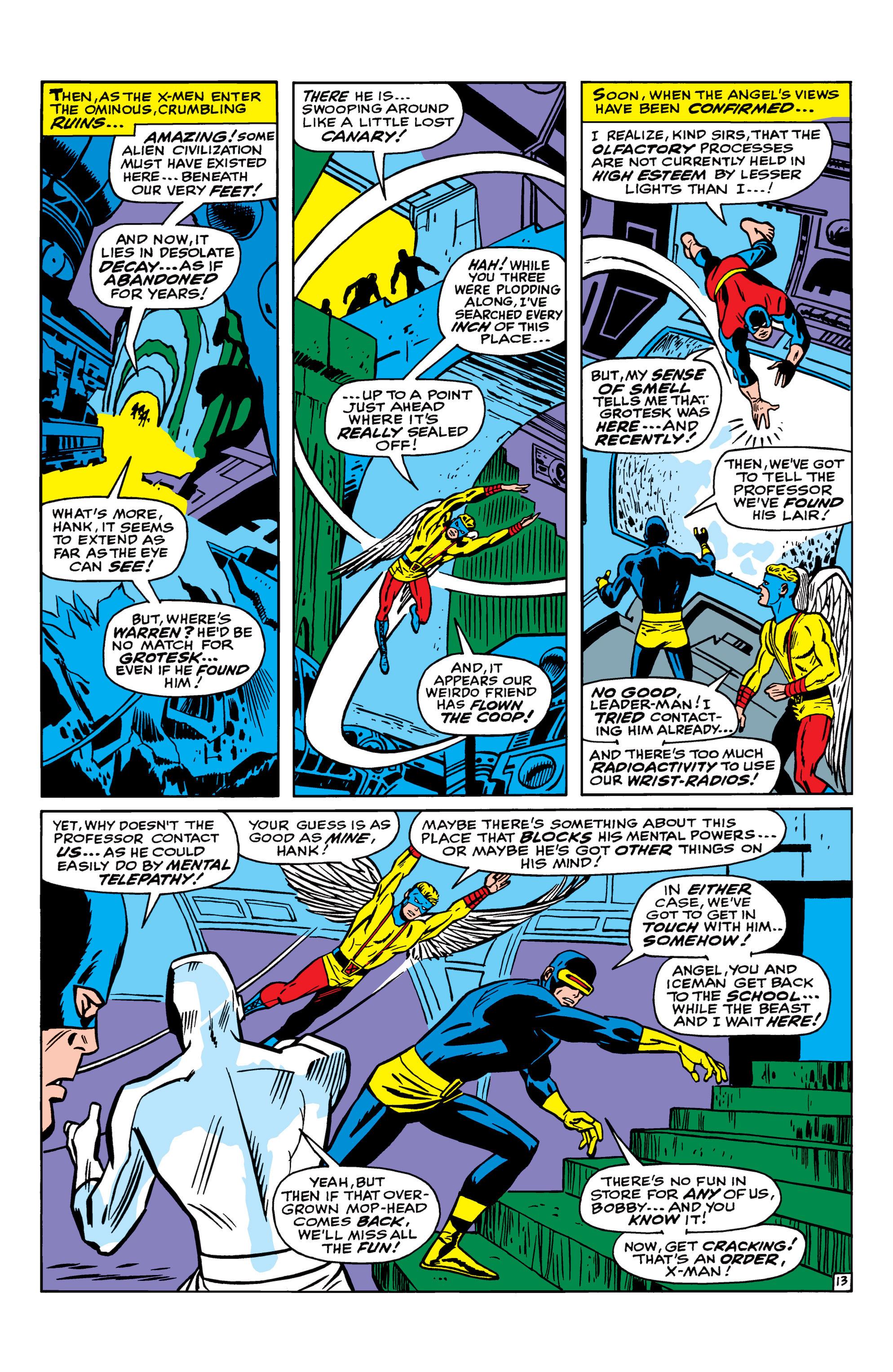 Read online Uncanny X-Men (1963) comic -  Issue #41 - 14