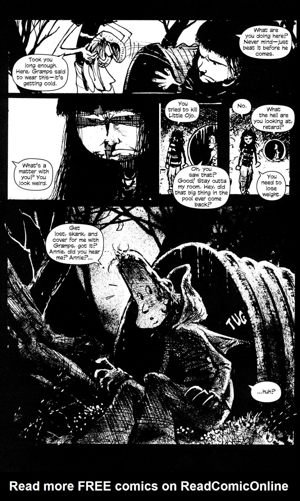 Read online Ojo comic -  Issue #4 - 22