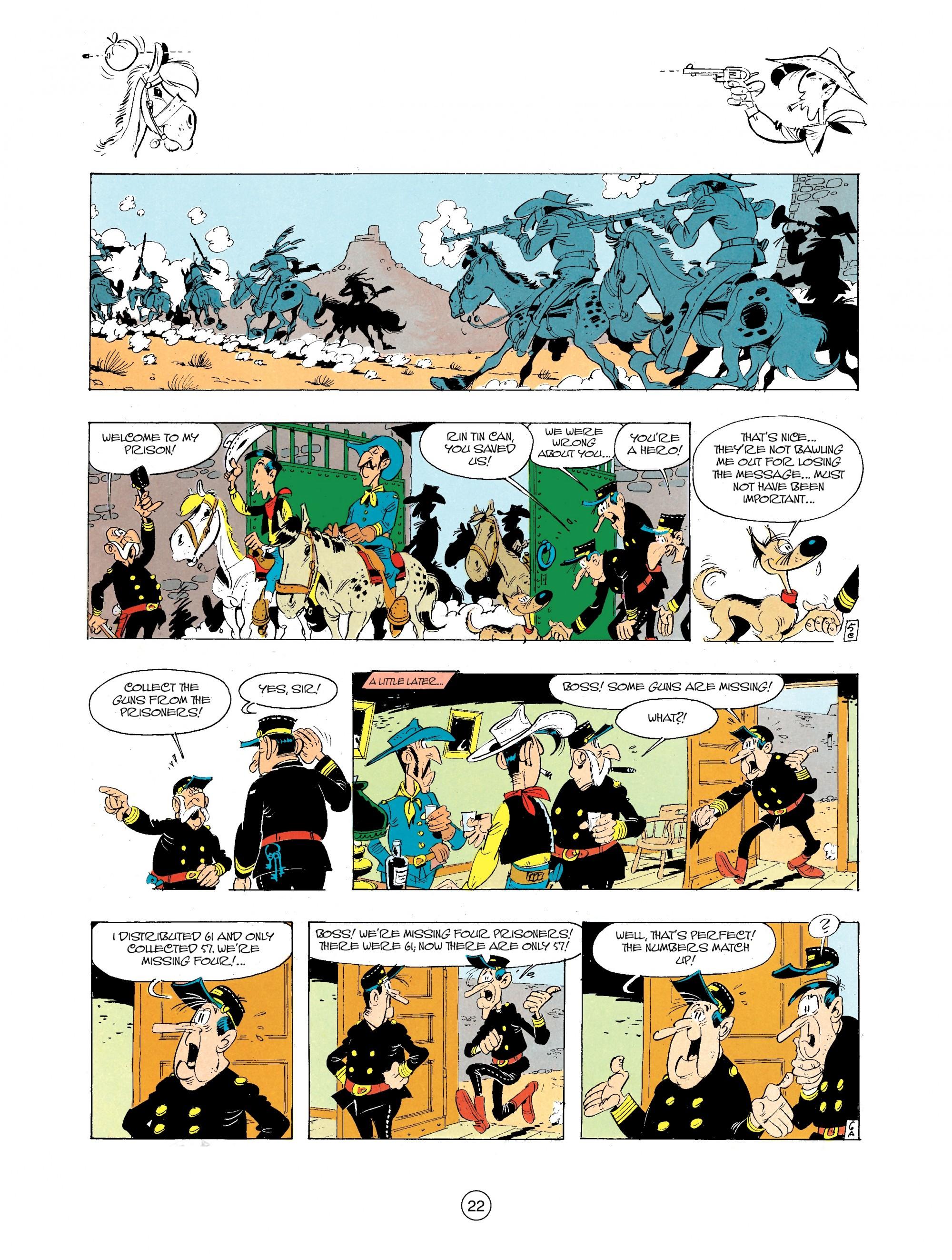 Read online A Lucky Luke Adventure comic -  Issue #34 - 22