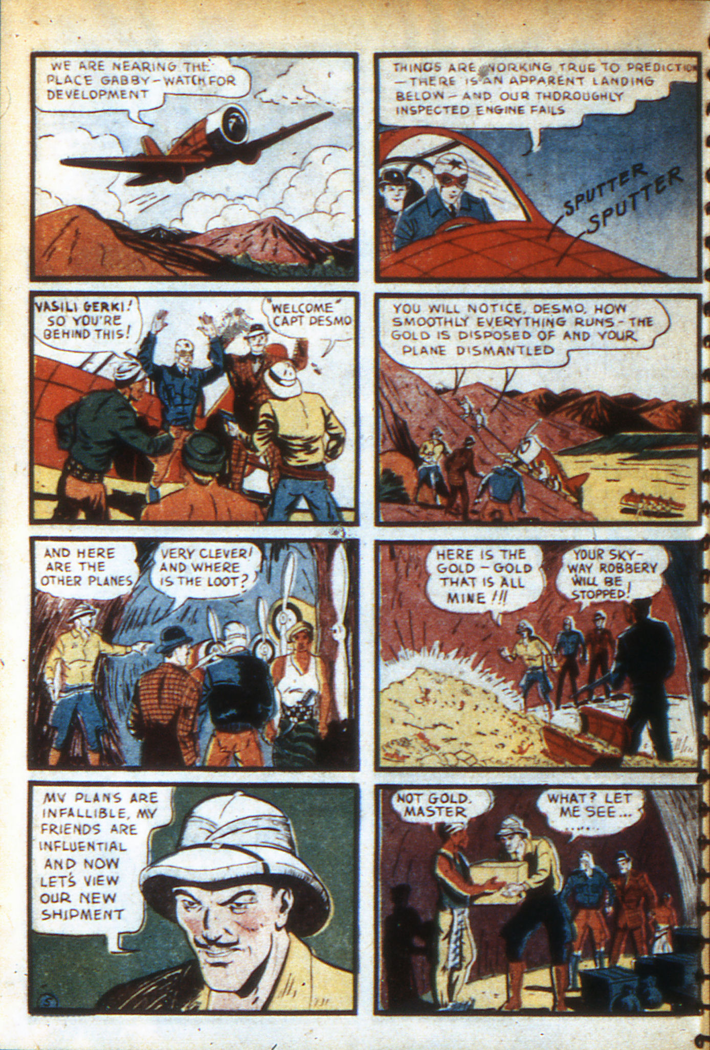 Read online Adventure Comics (1938) comic -  Issue #46 - 41