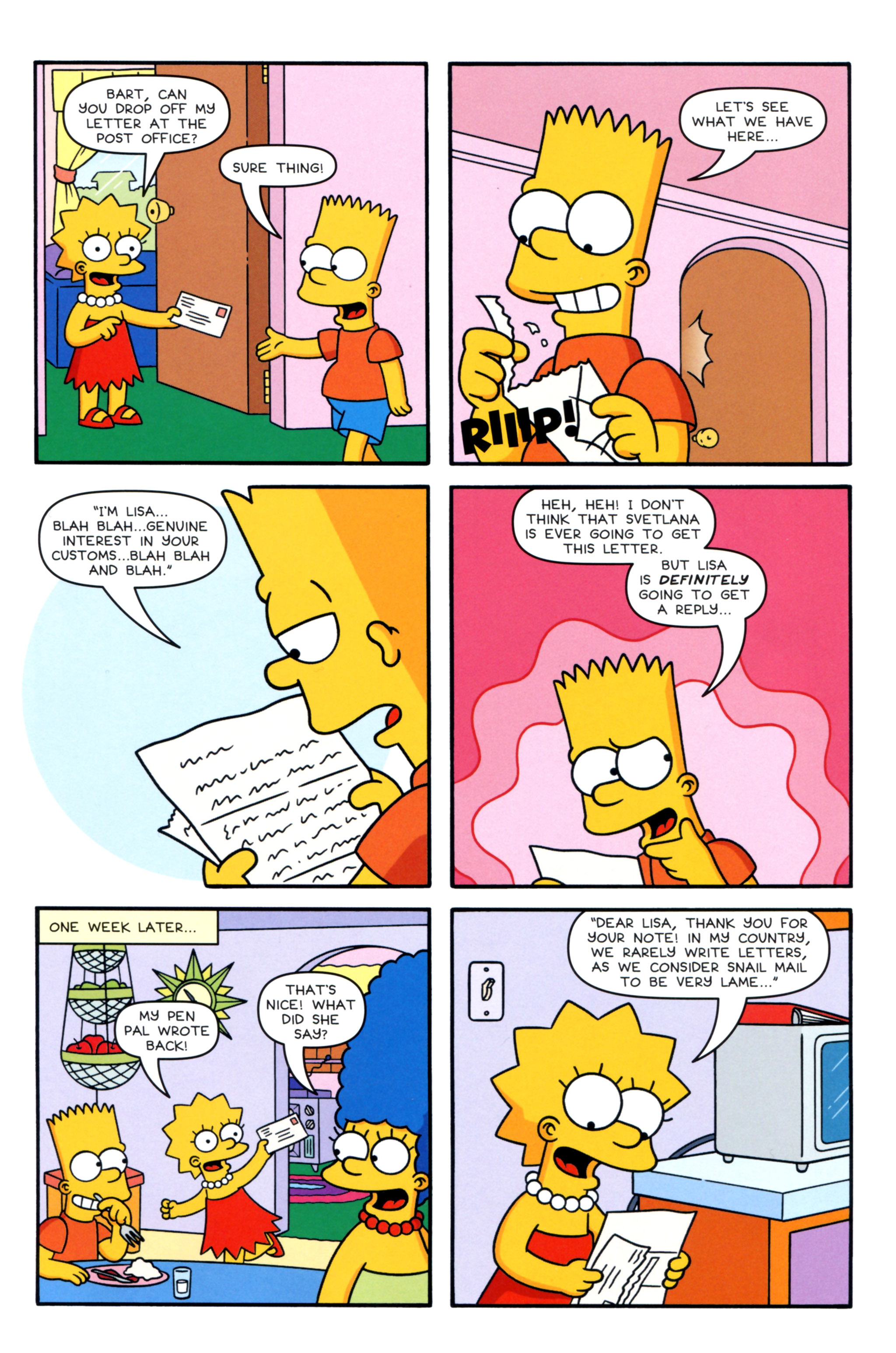 Read online Simpsons Comics Presents Bart Simpson comic -  Issue #93 - 5