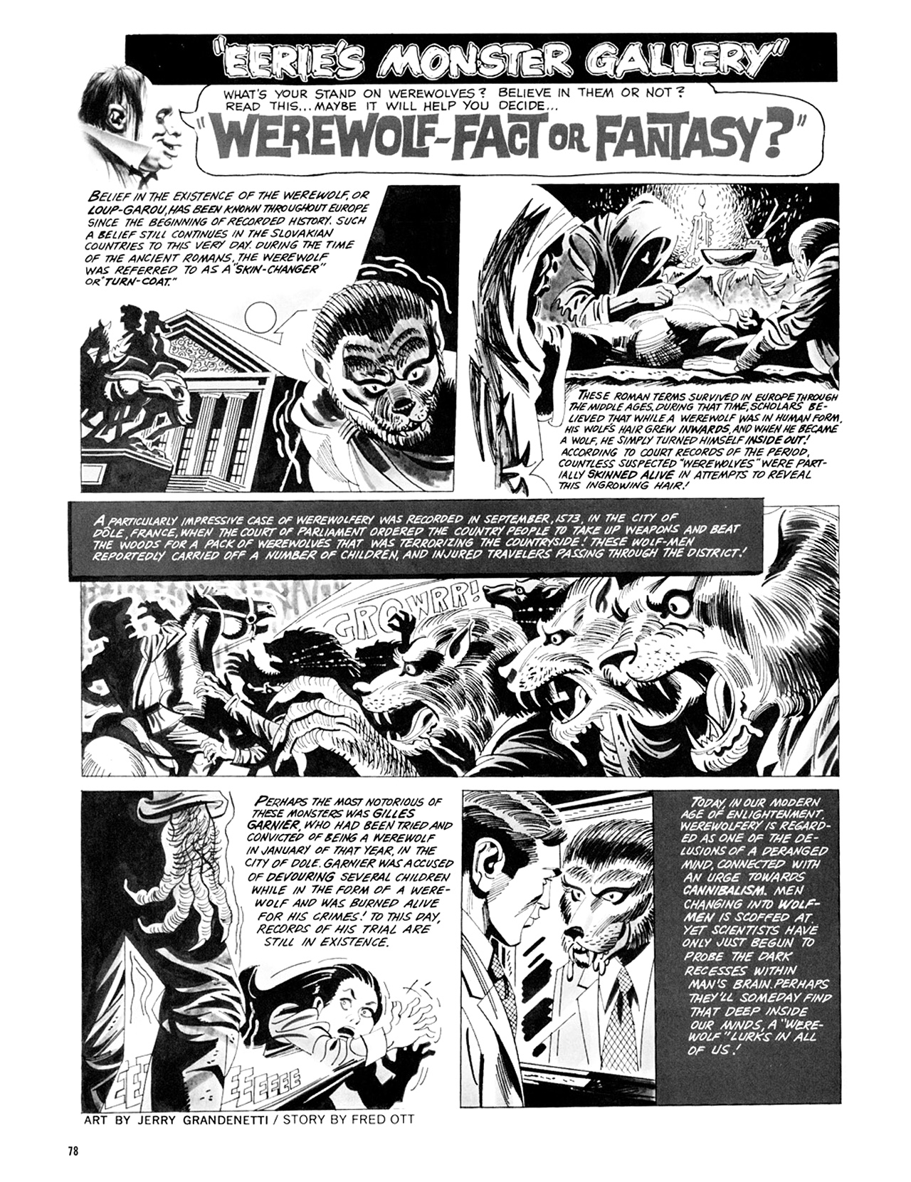 Read online Eerie Archives comic -  Issue # TPB 9 - 79