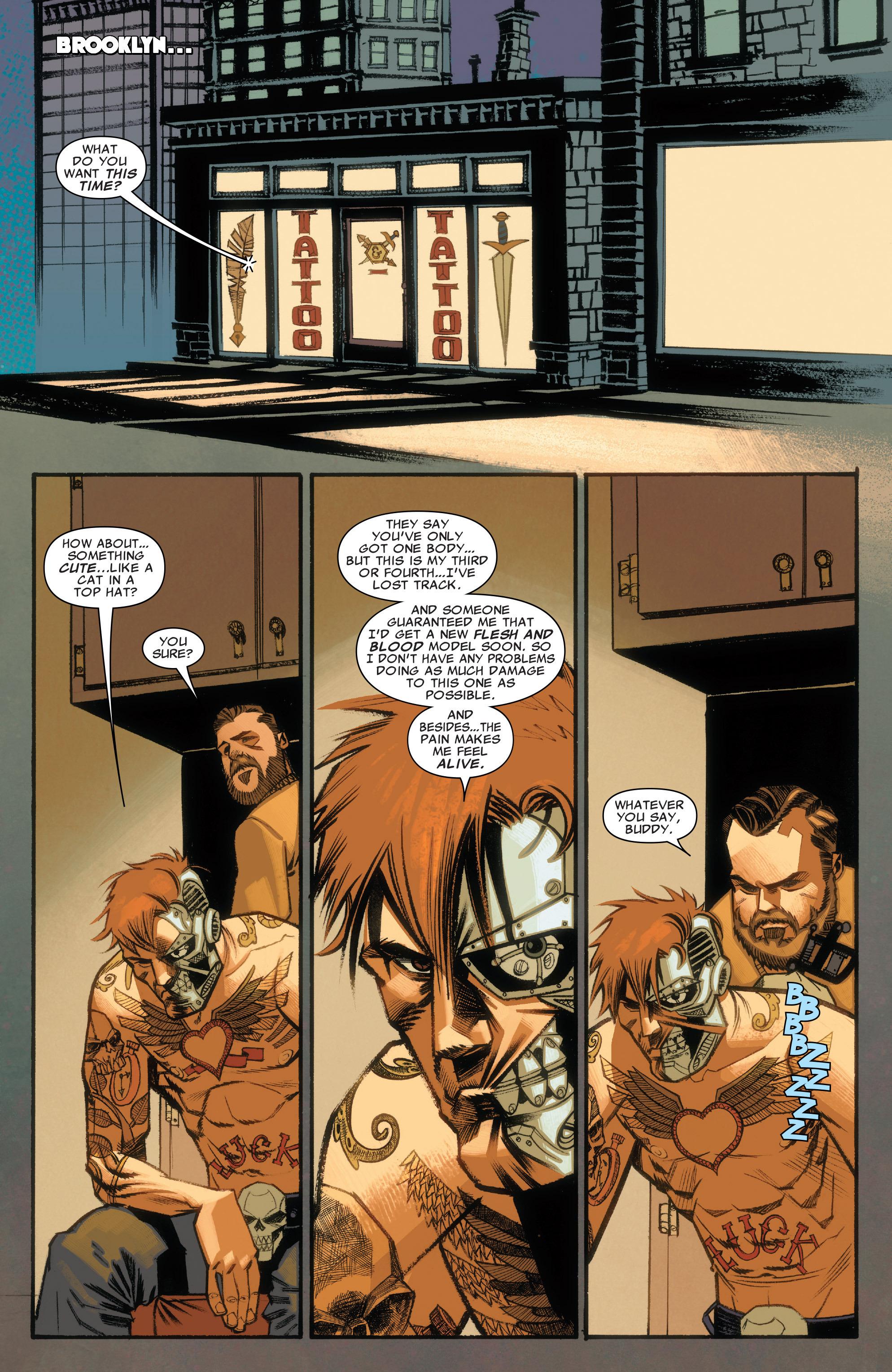 Read online Illuminati comic -  Issue #3 - 14