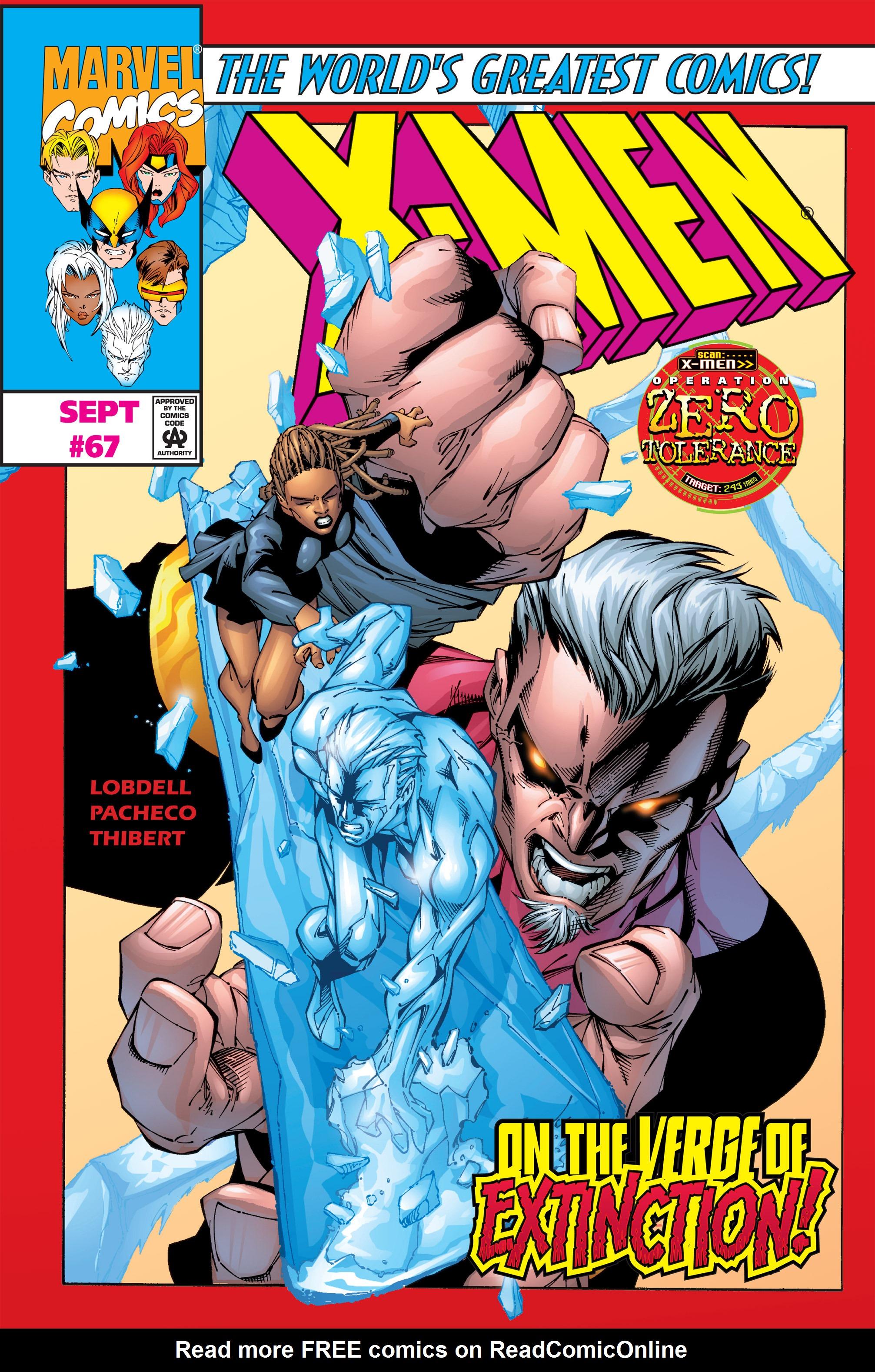 X-Men (1991) 67 Page 0