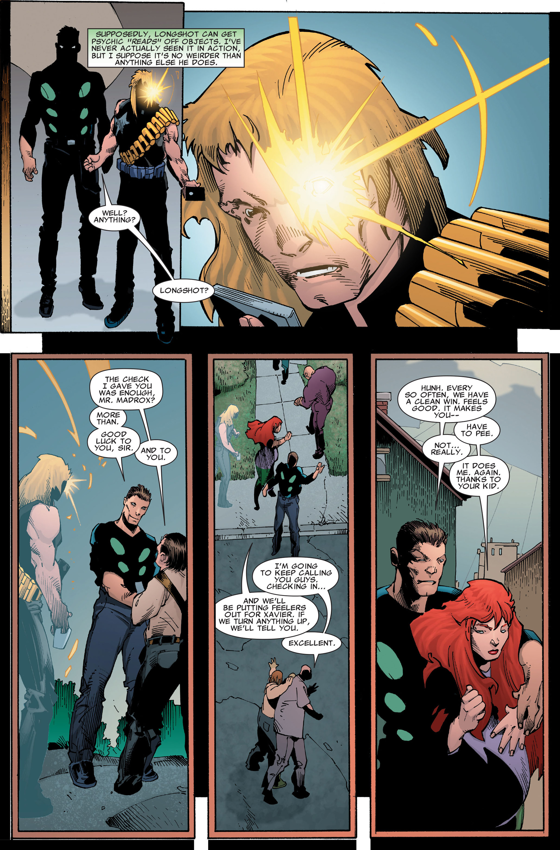 Read online X-Factor (2006) comic -  Issue #35 - 19