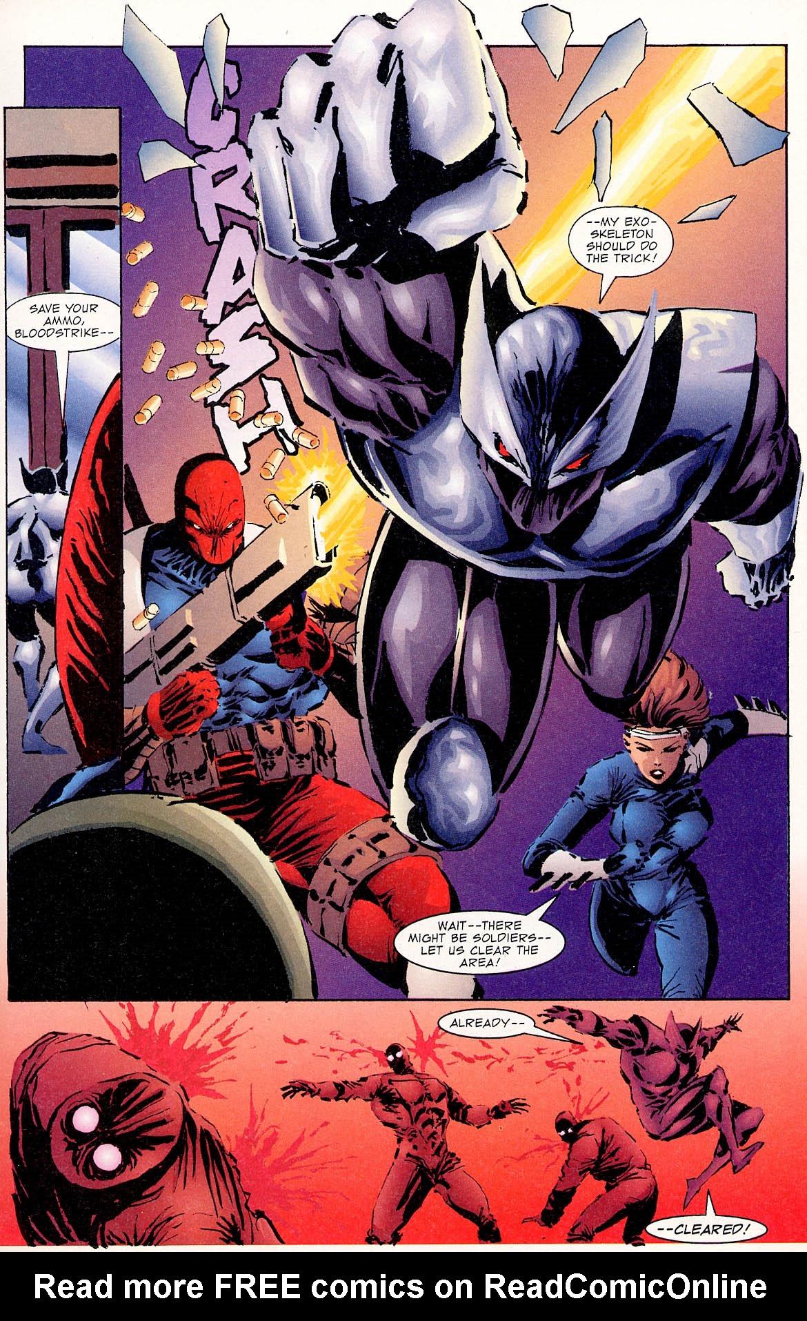Read online ShadowHawk comic -  Issue #0 - 9