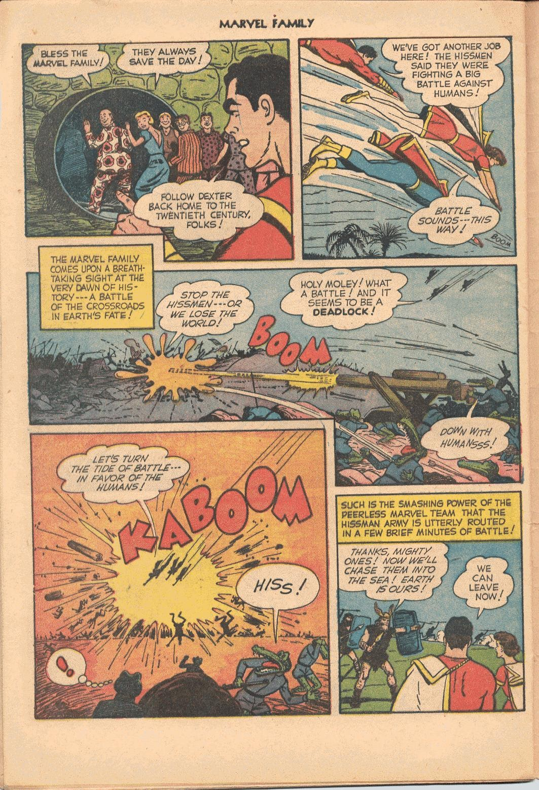 The Marvel Family issue 74 - Page 32