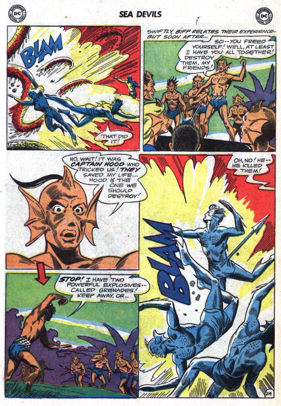 Read online Sea Devils comic -  Issue #18 - 32