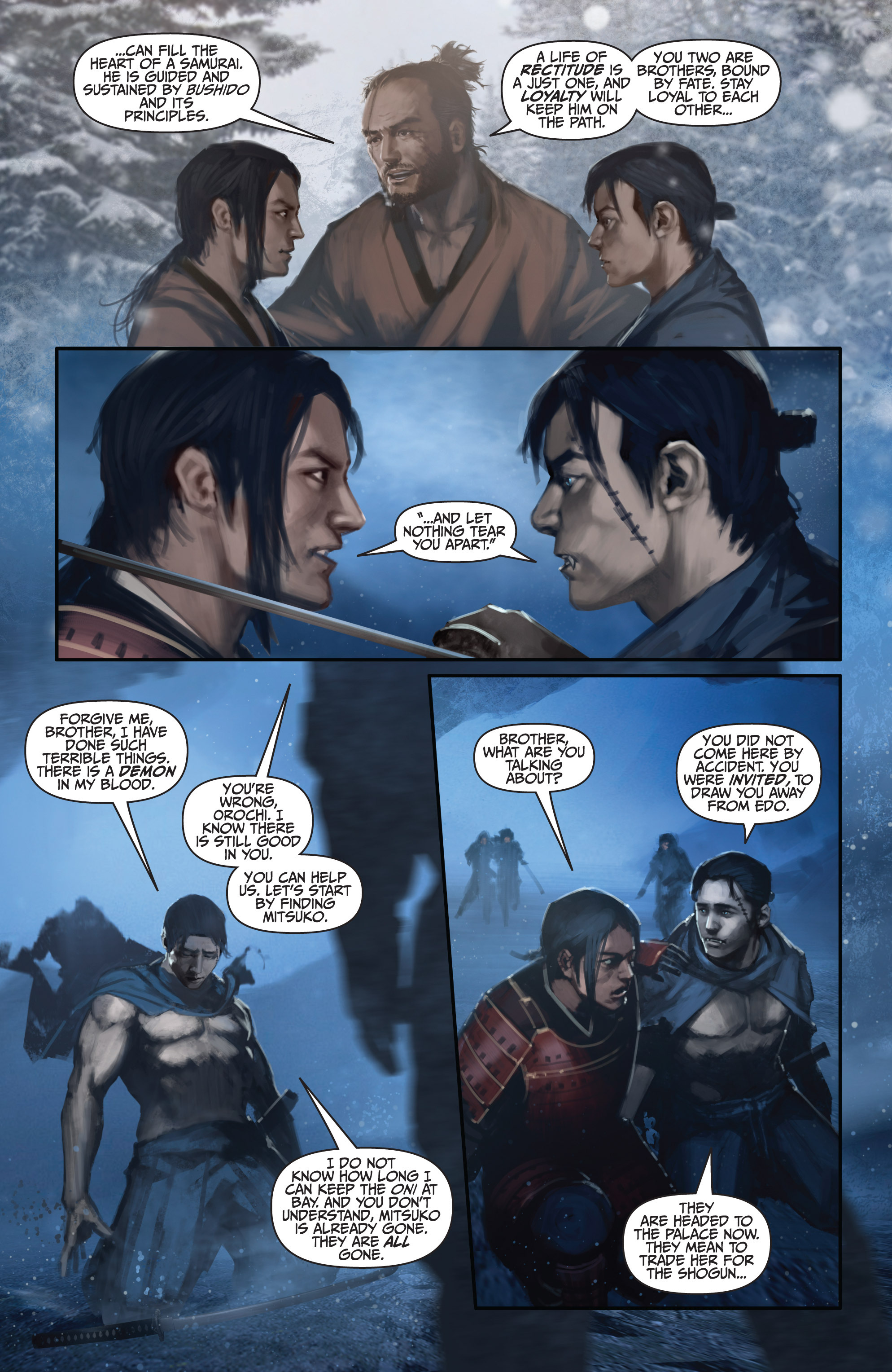 Read online Bushido: The Way of the Warrior comic -  Issue #4 - 21