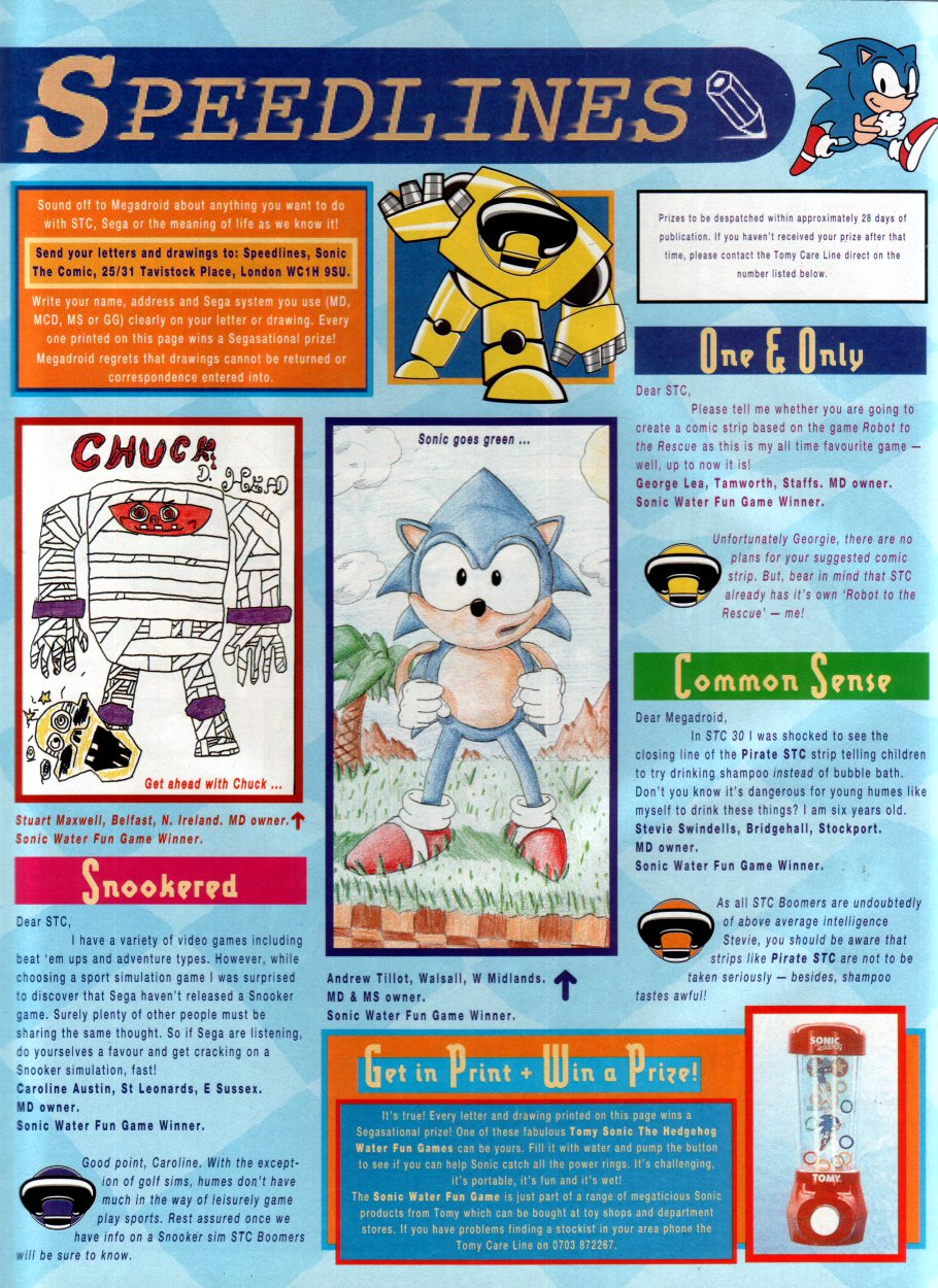Read online Sonic the Comic comic -  Issue #34 - 31