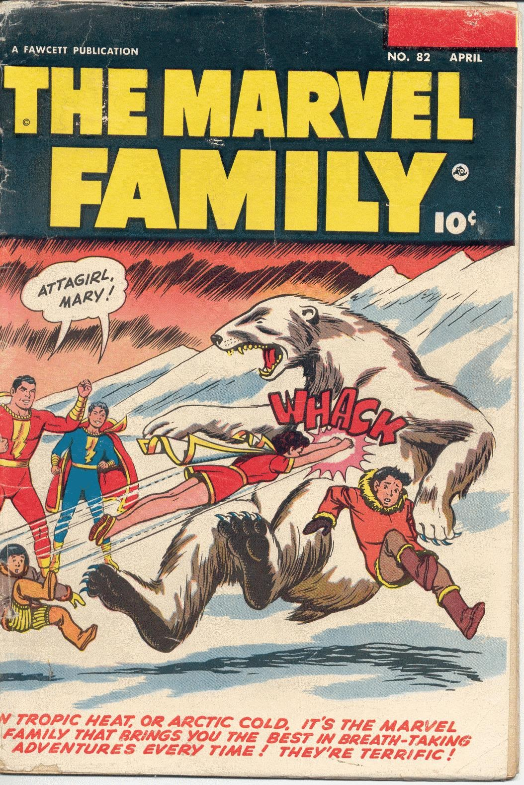 The Marvel Family 82 Page 1