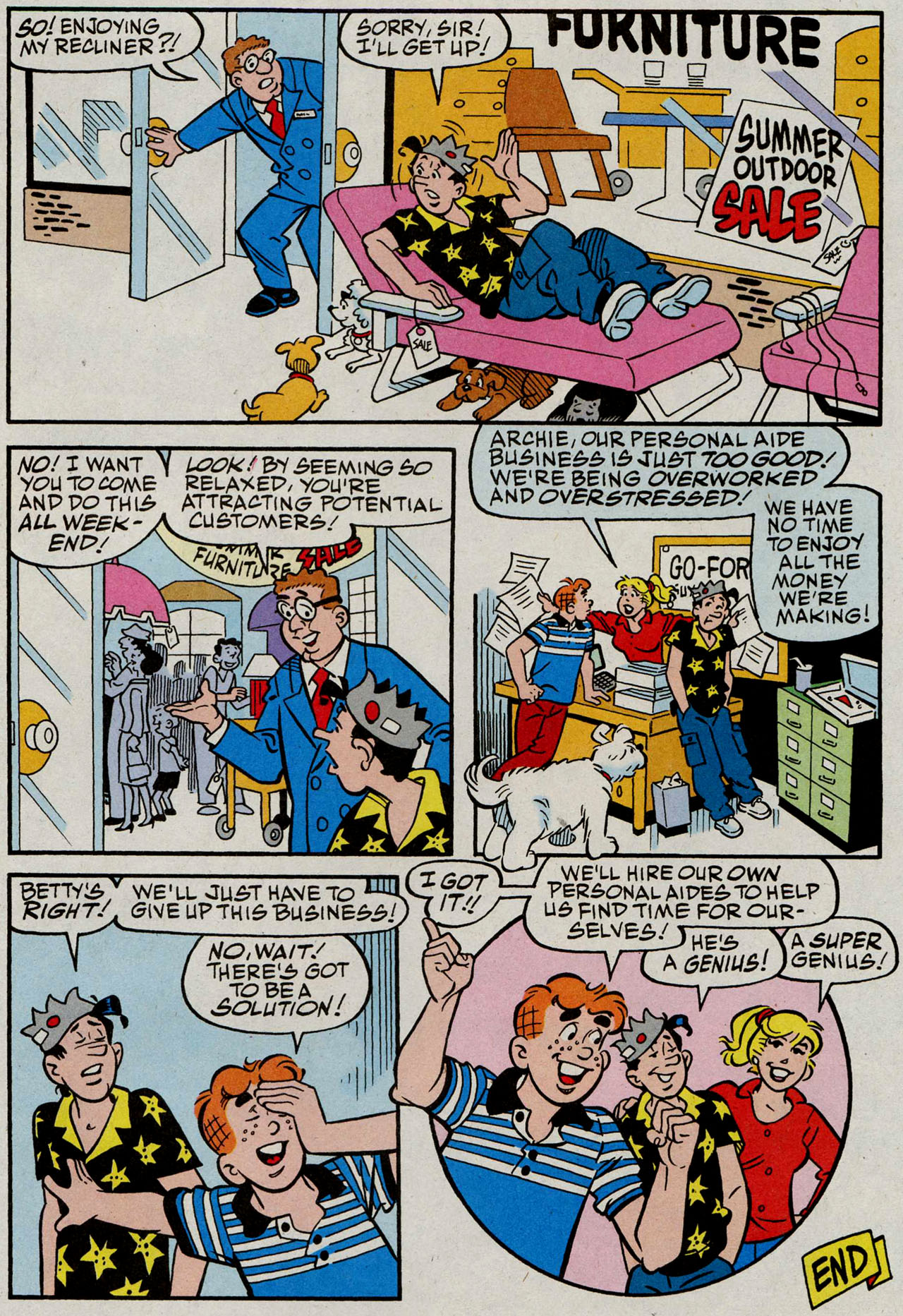 Read online Archie (1960) comic -  Issue #585 - 12