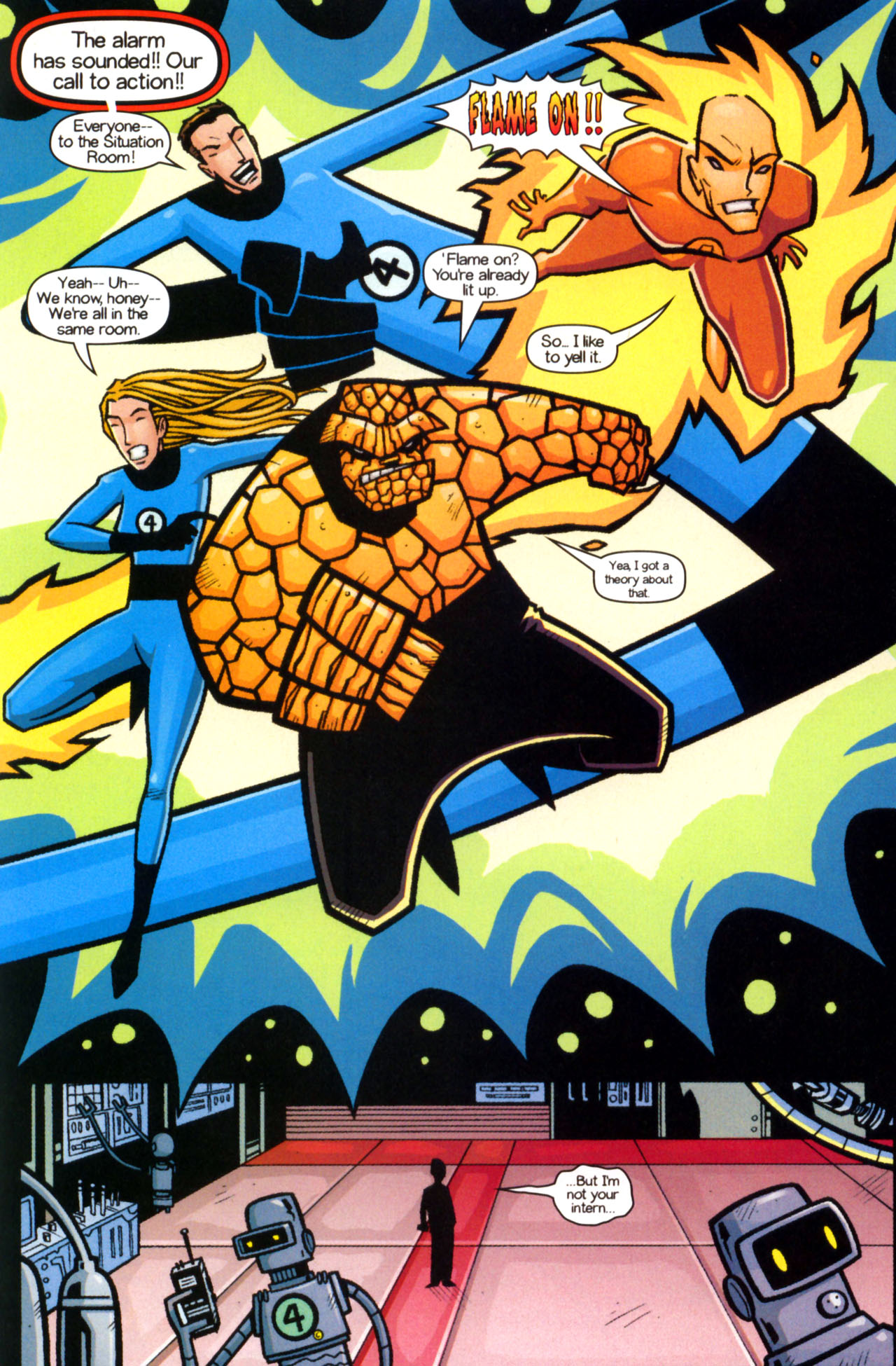 Read online Ultimate Marvel Team-Up comic -  Issue #9 - 14