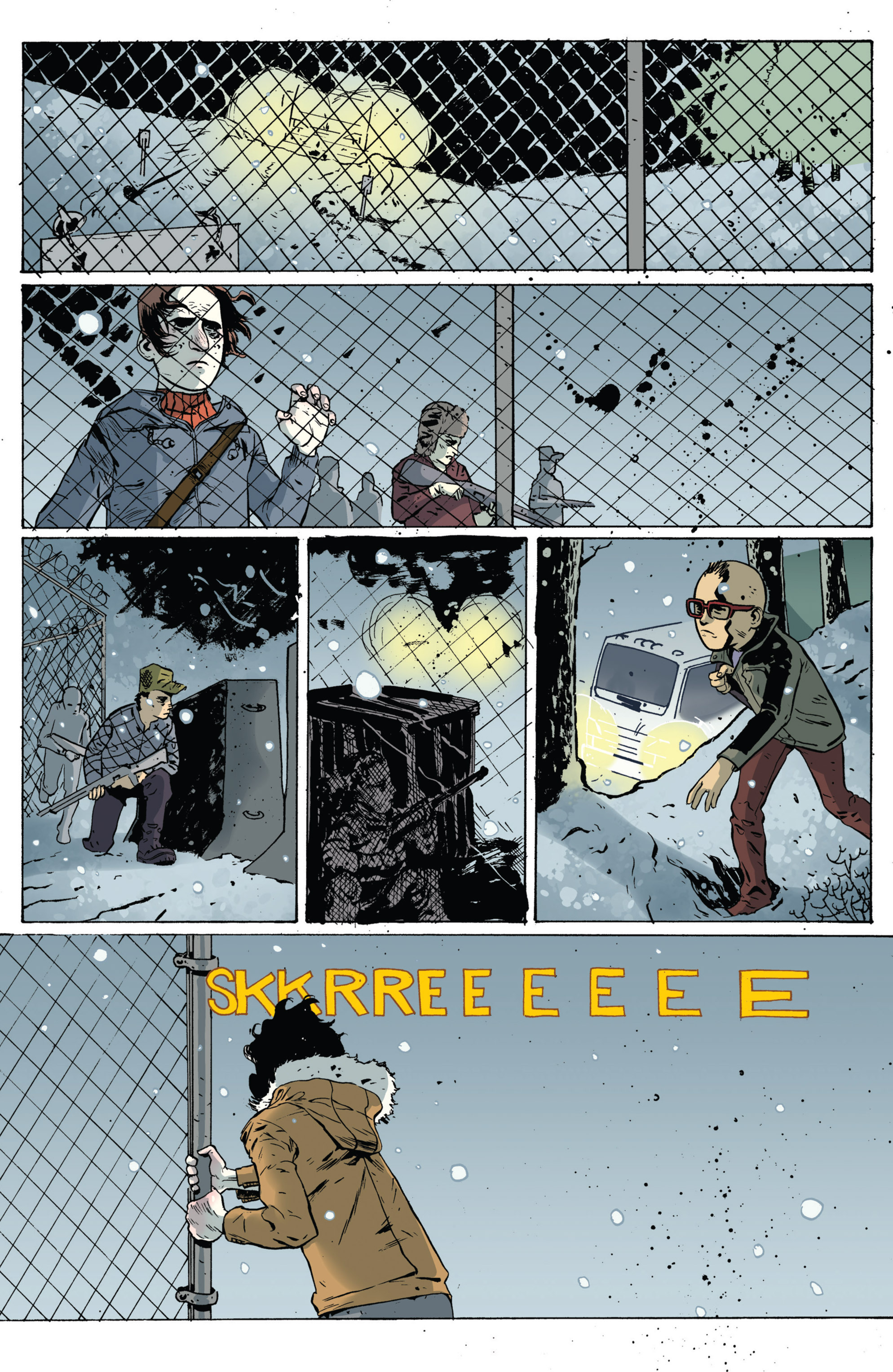 Read online Sheltered comic -  Issue #5 - 21
