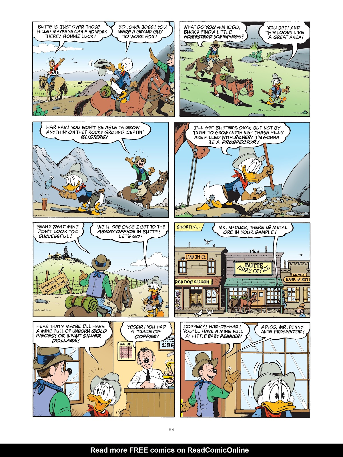 Read online The Complete Life and Times of Scrooge McDuck comic -  Issue # TPB 1 (Part 1) - 68