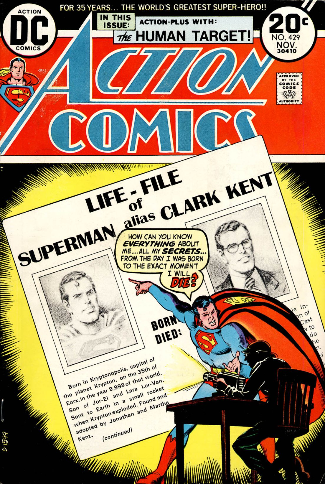 Action Comics (1938) 429 Page 1