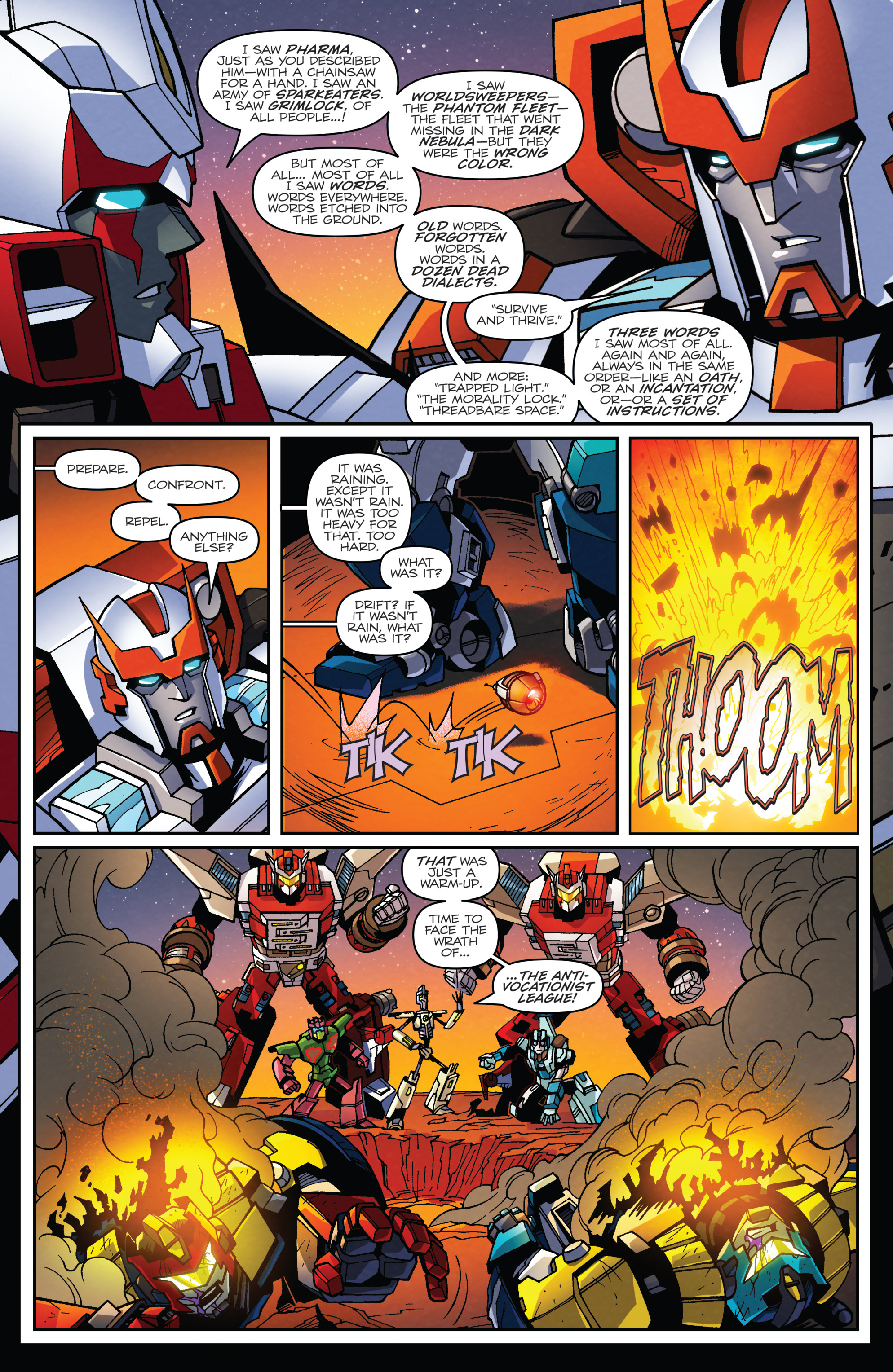 Read online Transformers: Lost Light comic -  Issue #2 - 10