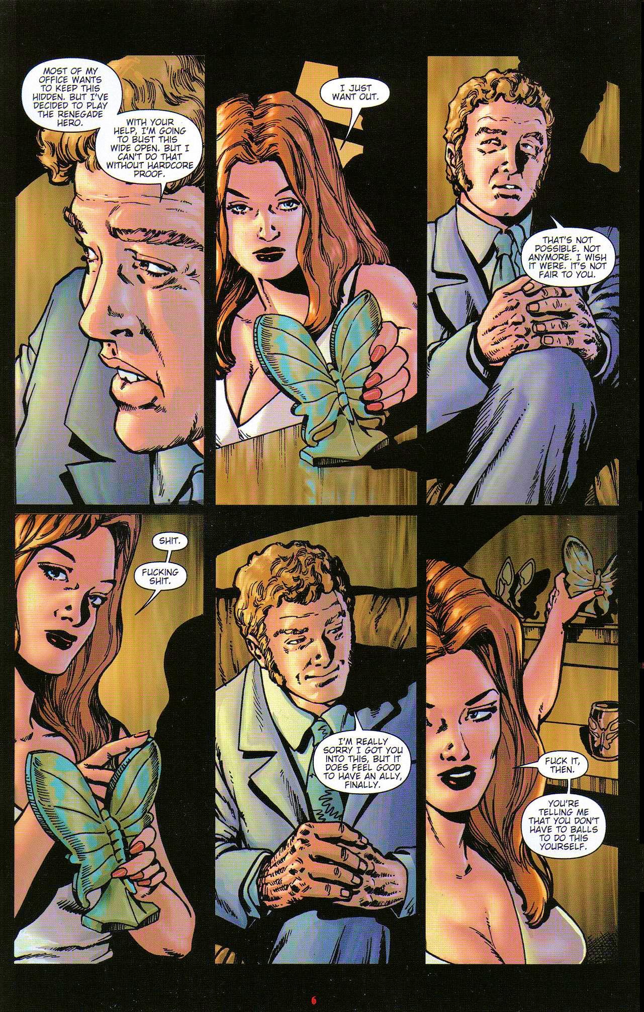 Read online Dominatrix comic -  Issue #5 - 8