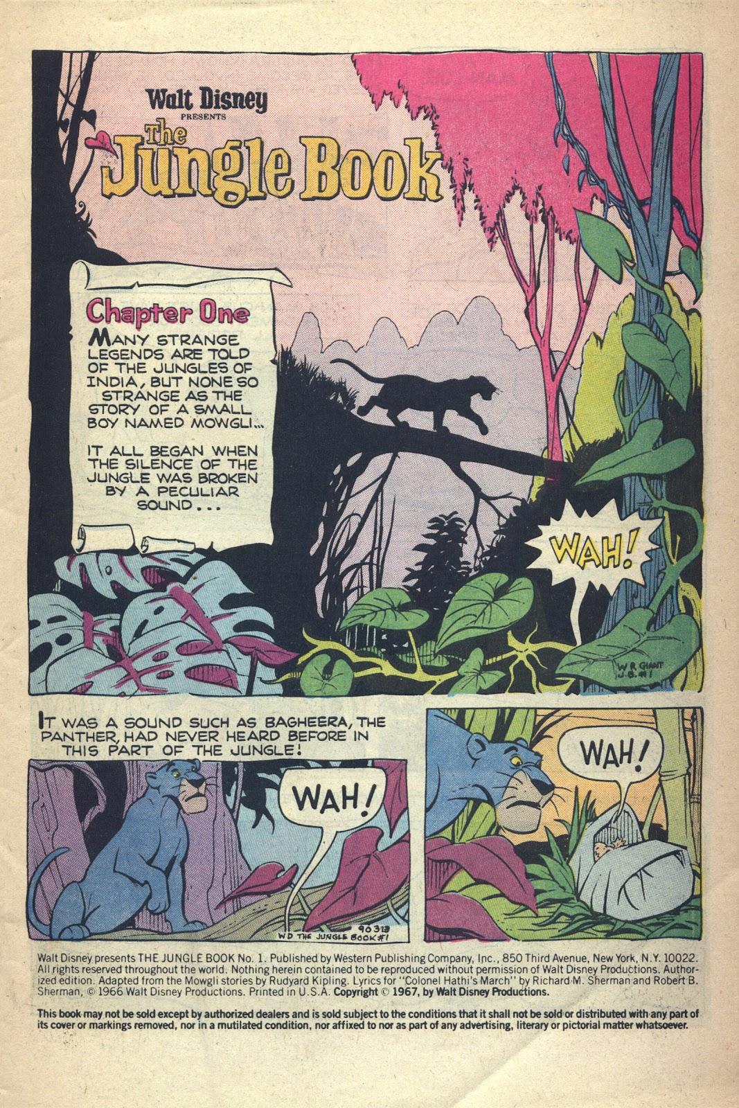 Read online Walt Disney presents The Jungle Book comic -  Issue # Full - 3