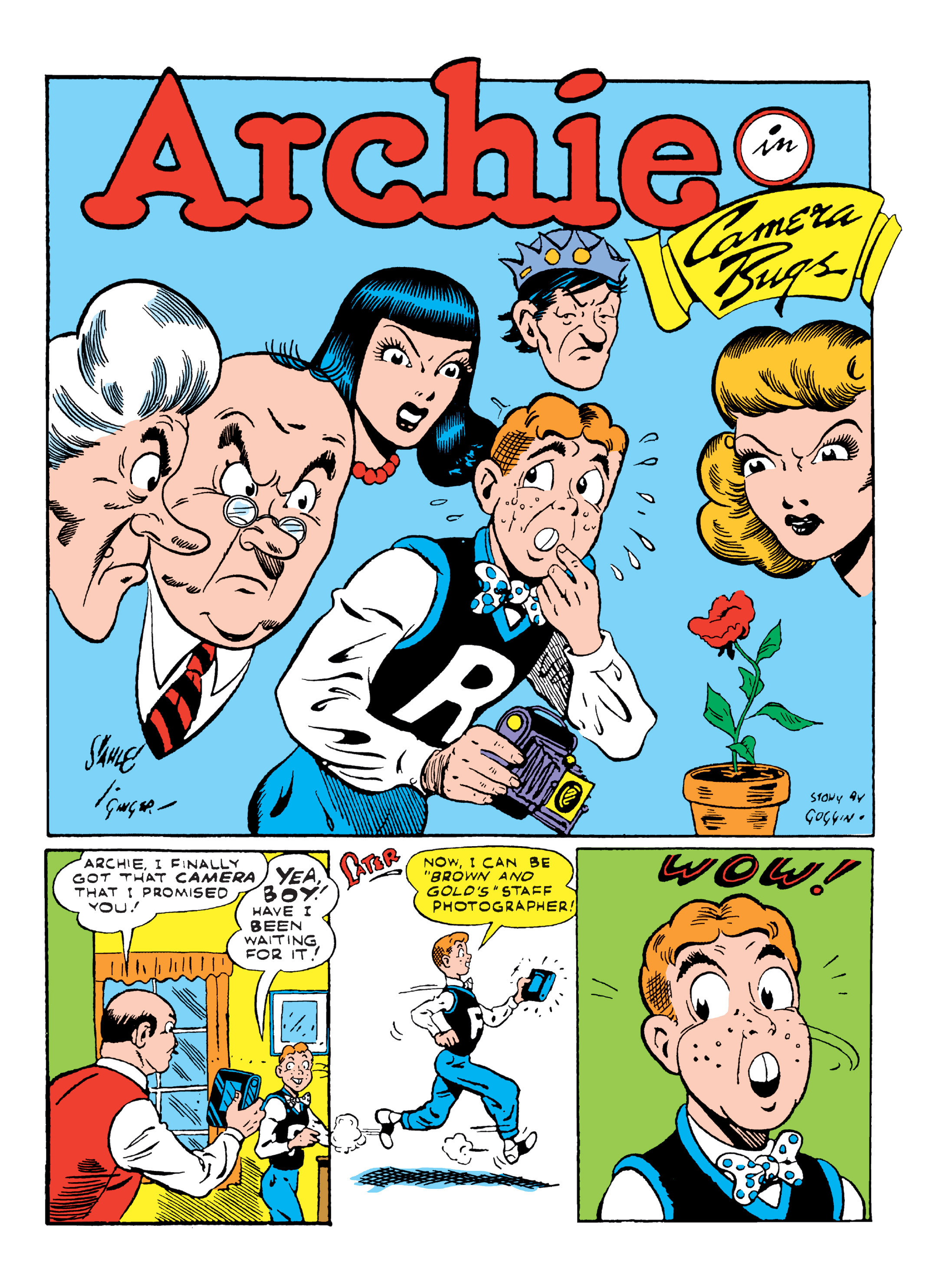 Read online Archie Giant Comics Collection comic -  Issue #Archie Giant Comics Collection TPB (Part 2) - 128