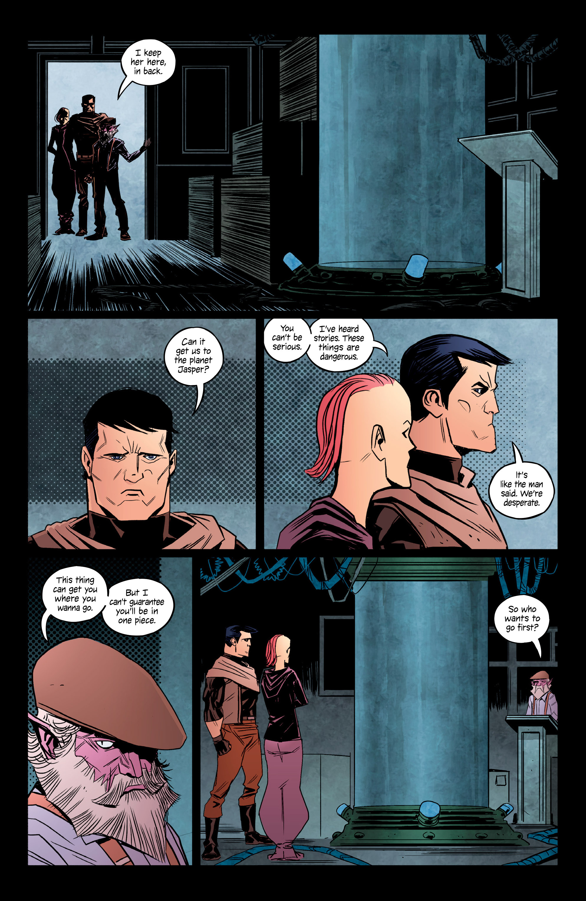 Read online Copperhead comic -  Issue #13 - 19