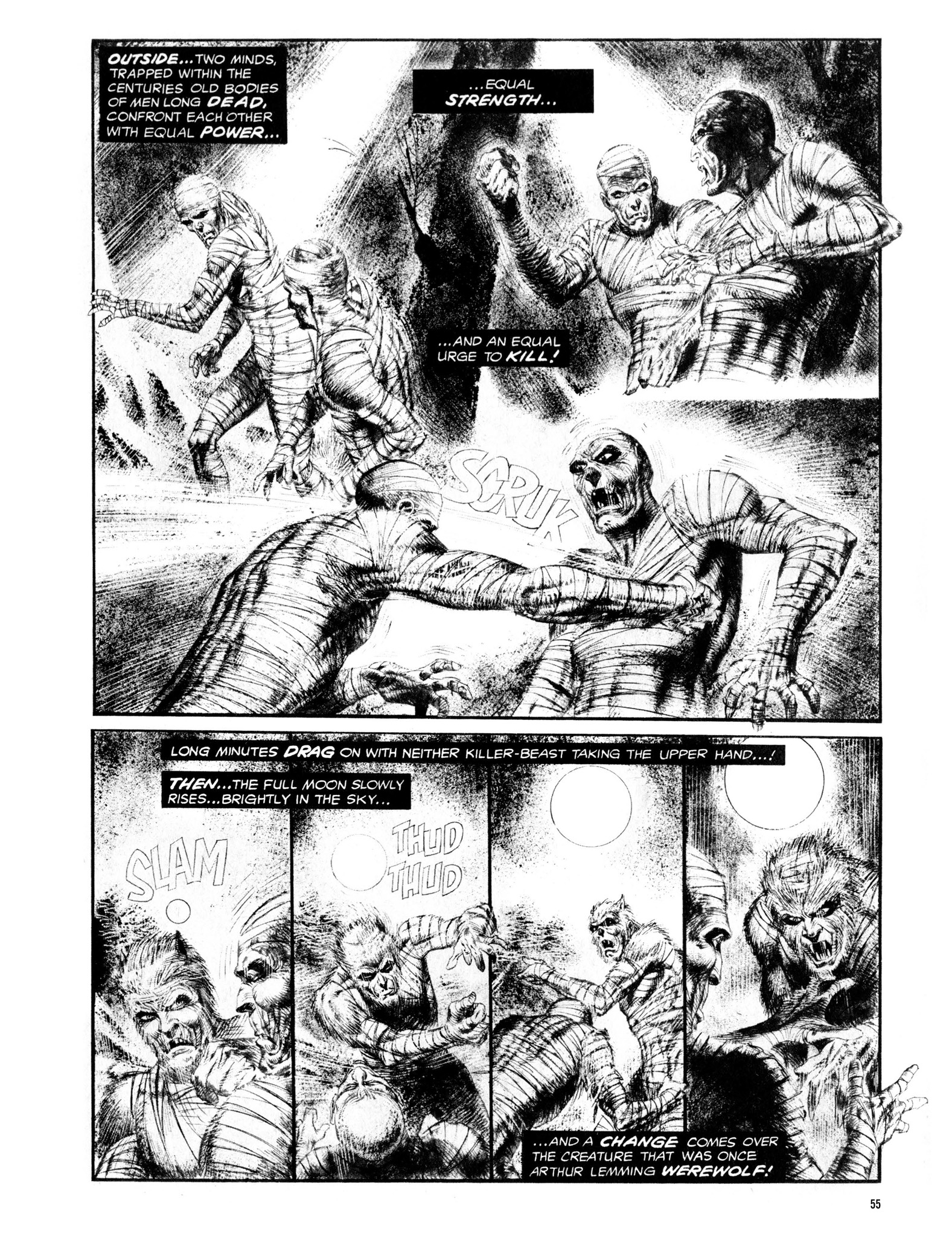 Read online Eerie Archives comic -  Issue # TPB 13 - 56
