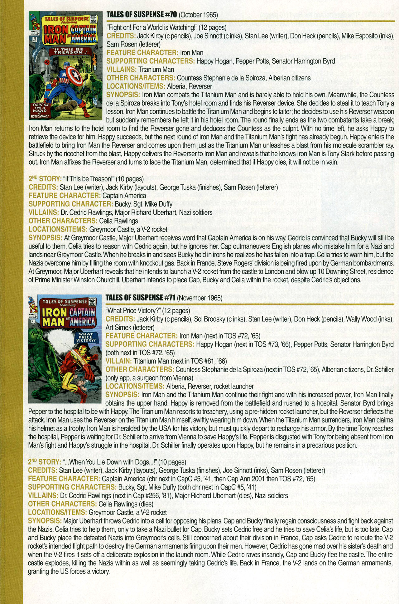 Read online Official Index to the Marvel Universe comic -  Issue #1 - 44