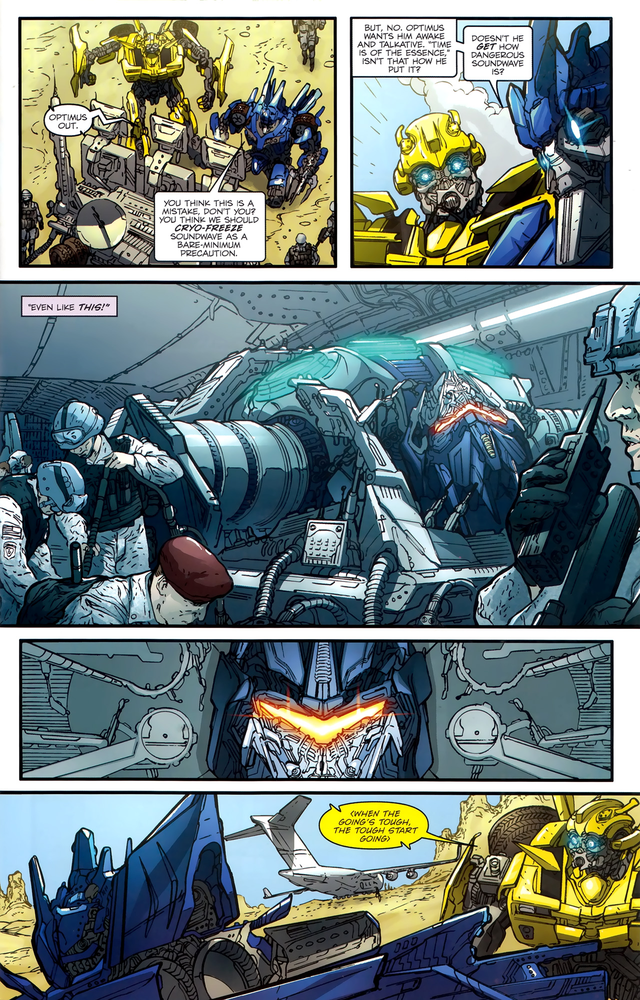 Read online Transformers: Nefarious comic -  Issue #3 - 6