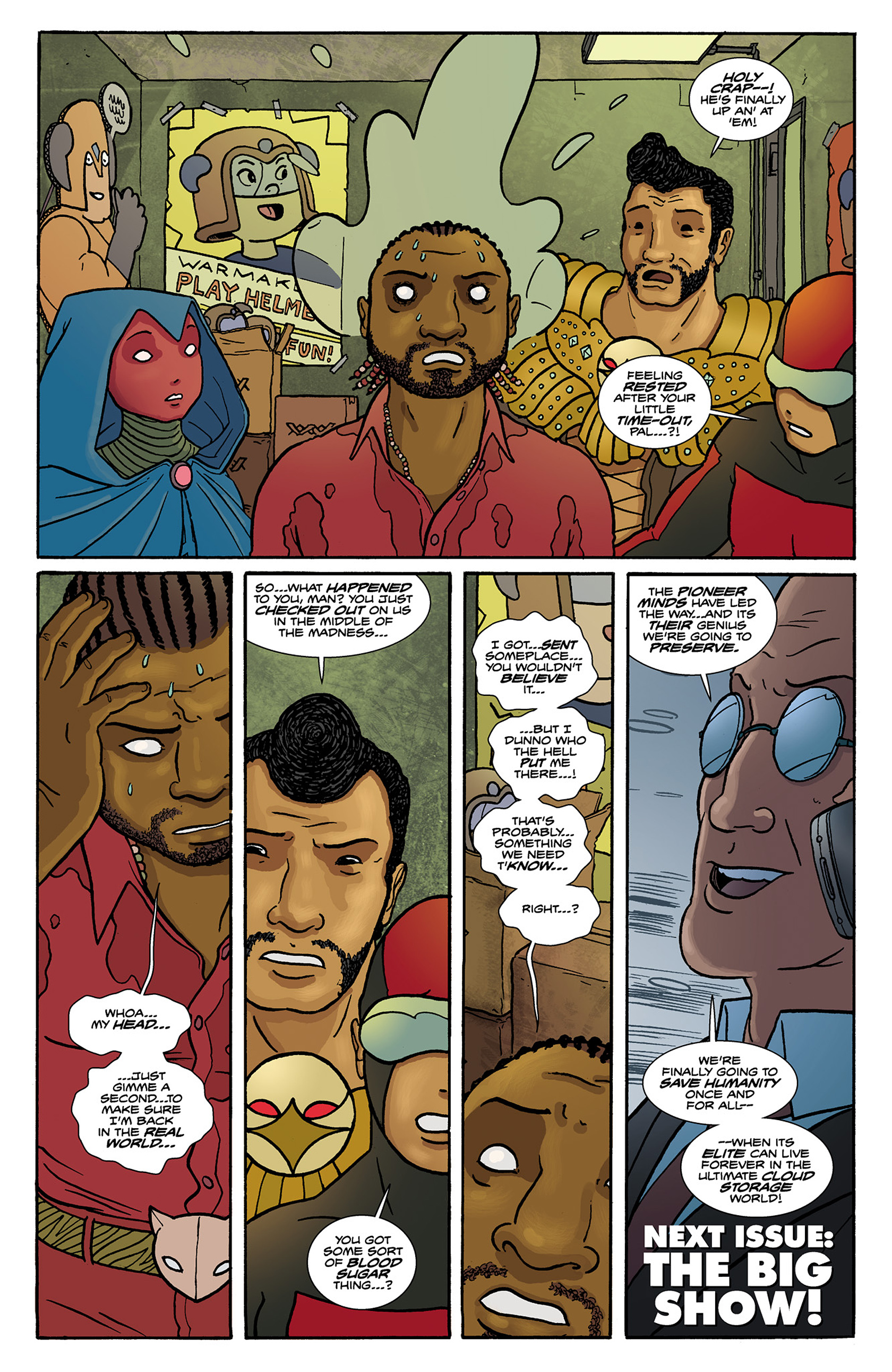 Read online Catalyst Comix comic -  Issue #6 - 24