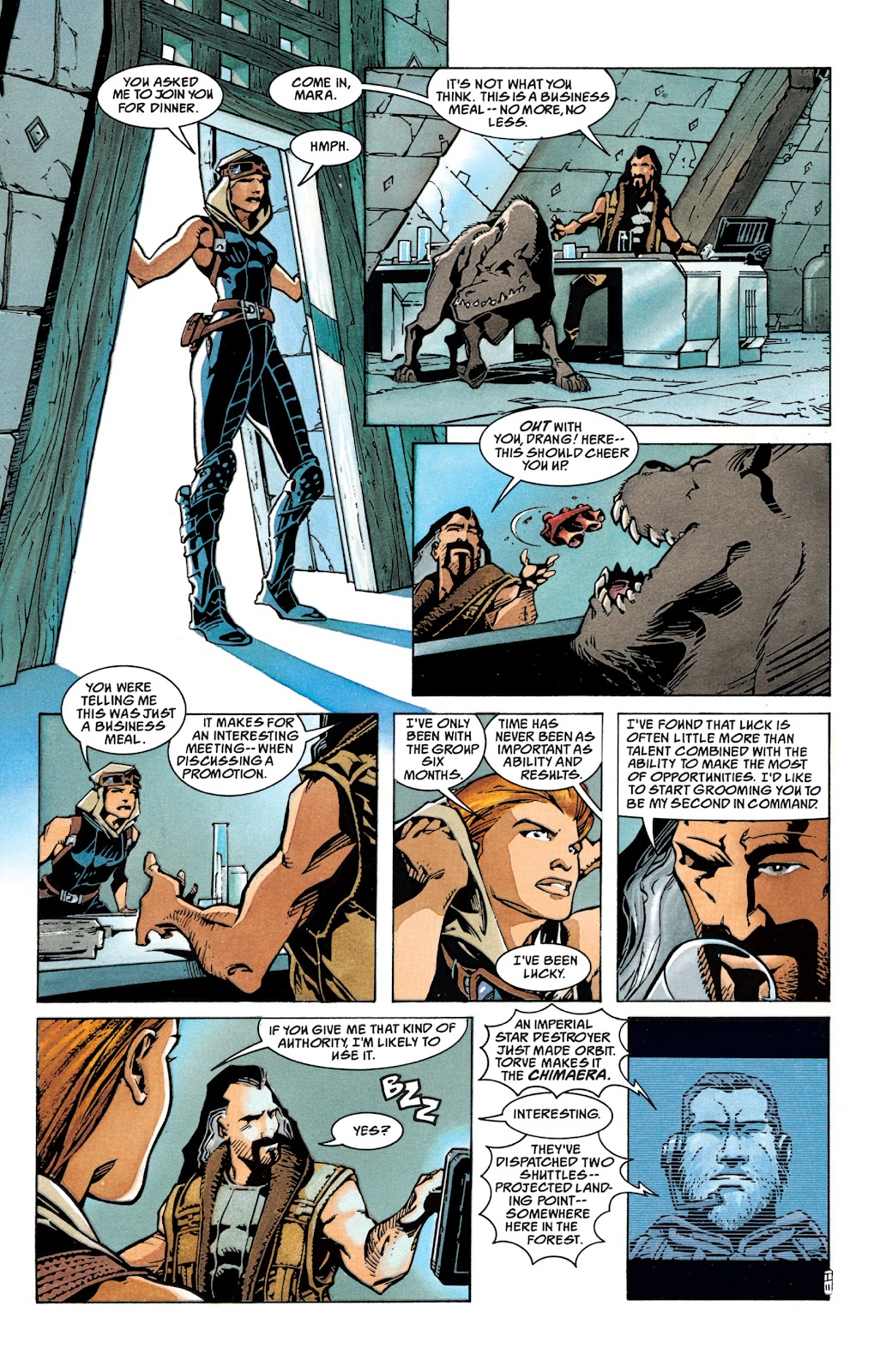 Read online Star Wars Legends: The New Republic - Epic Collection comic -  Issue # TPB 4 (Part 1) - 17